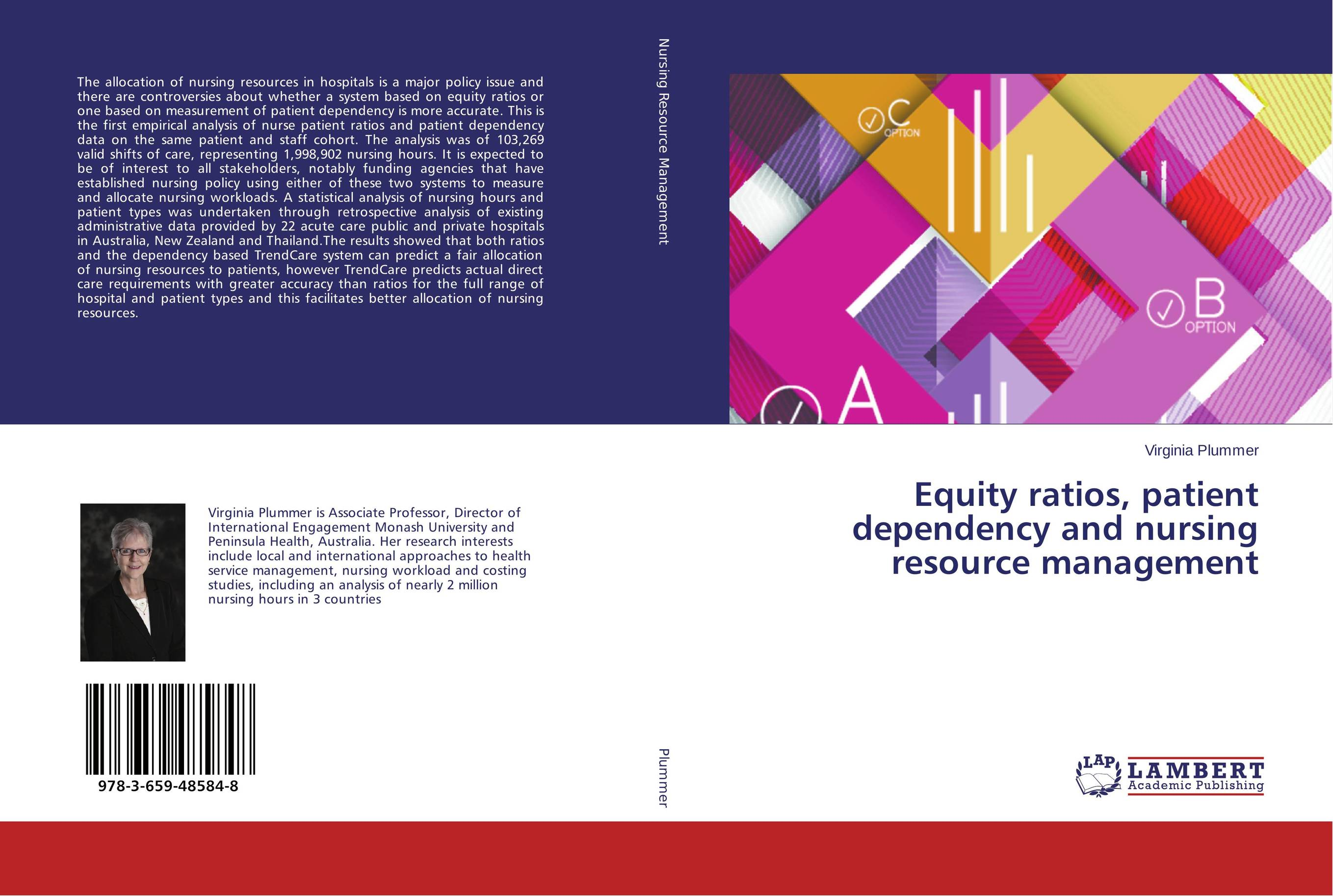 Equity ratios, patient dependency and nursing resource management analysis of patient satisfaction