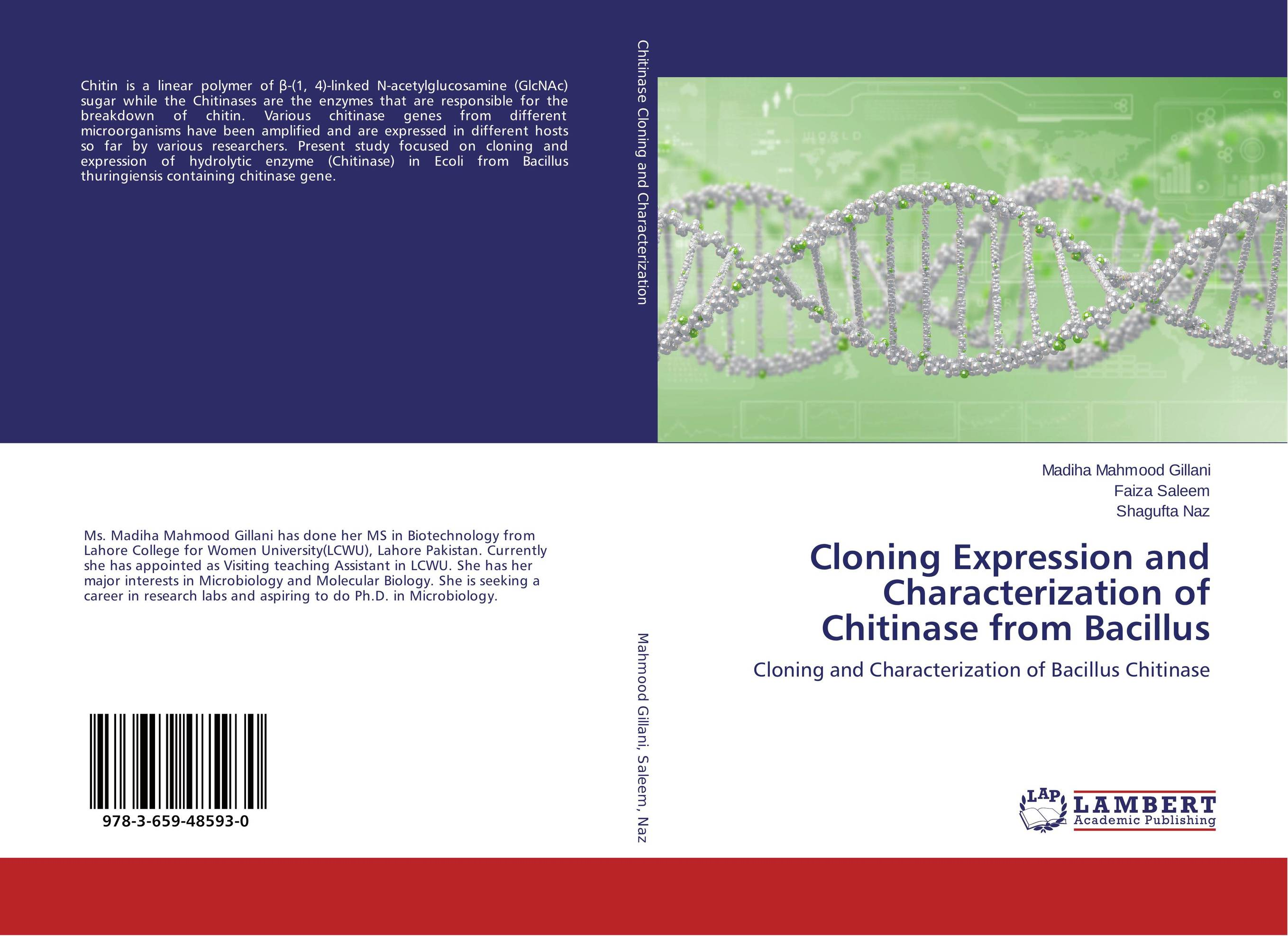 Cloning Expression and Characterization of Chitinase from Bacillus molecular cloning and expression of 6 desaturase gene in pangasius