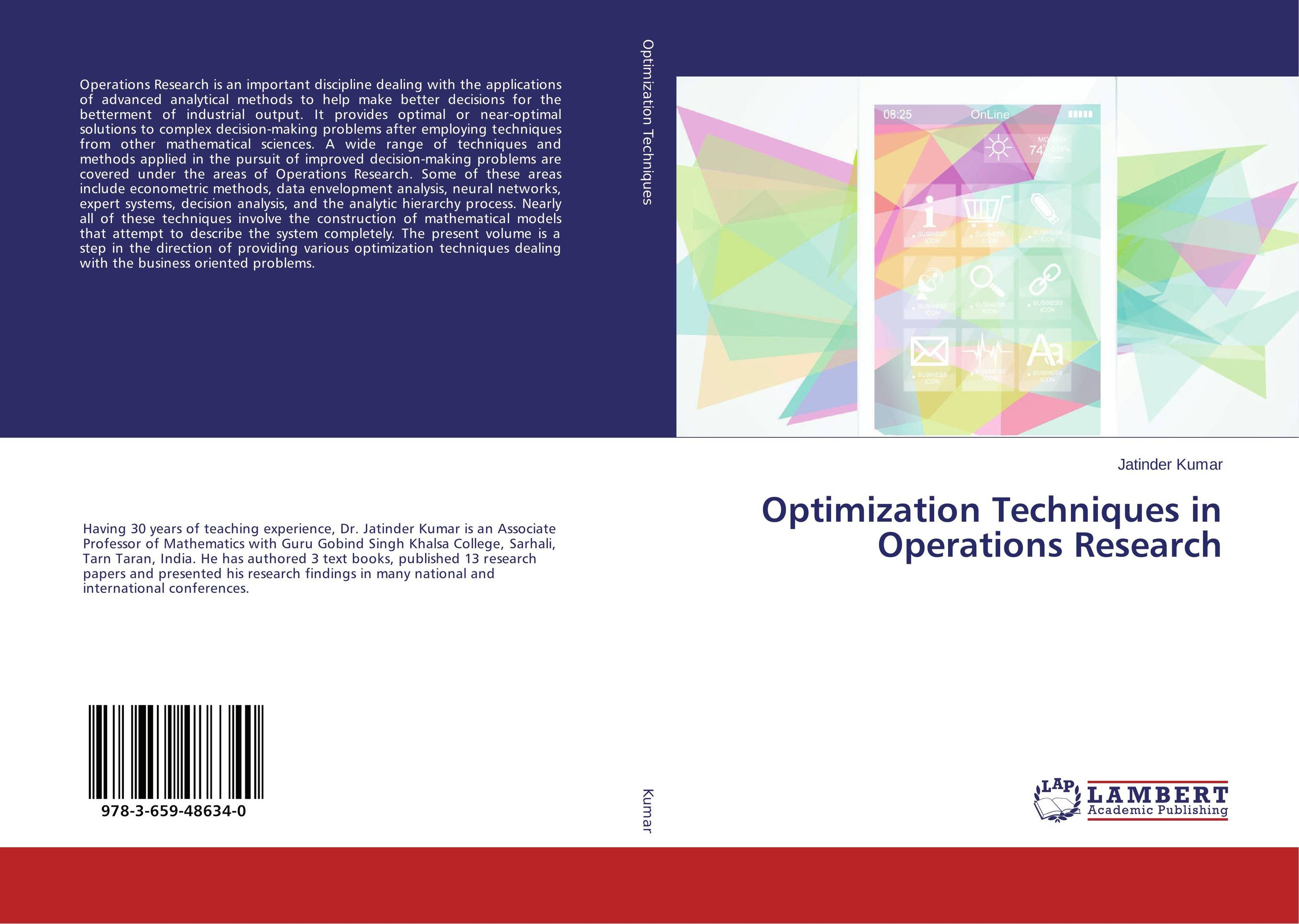 Optimization Techniques in Operations Research harvard business review hbr using logical techniques to making better decisions