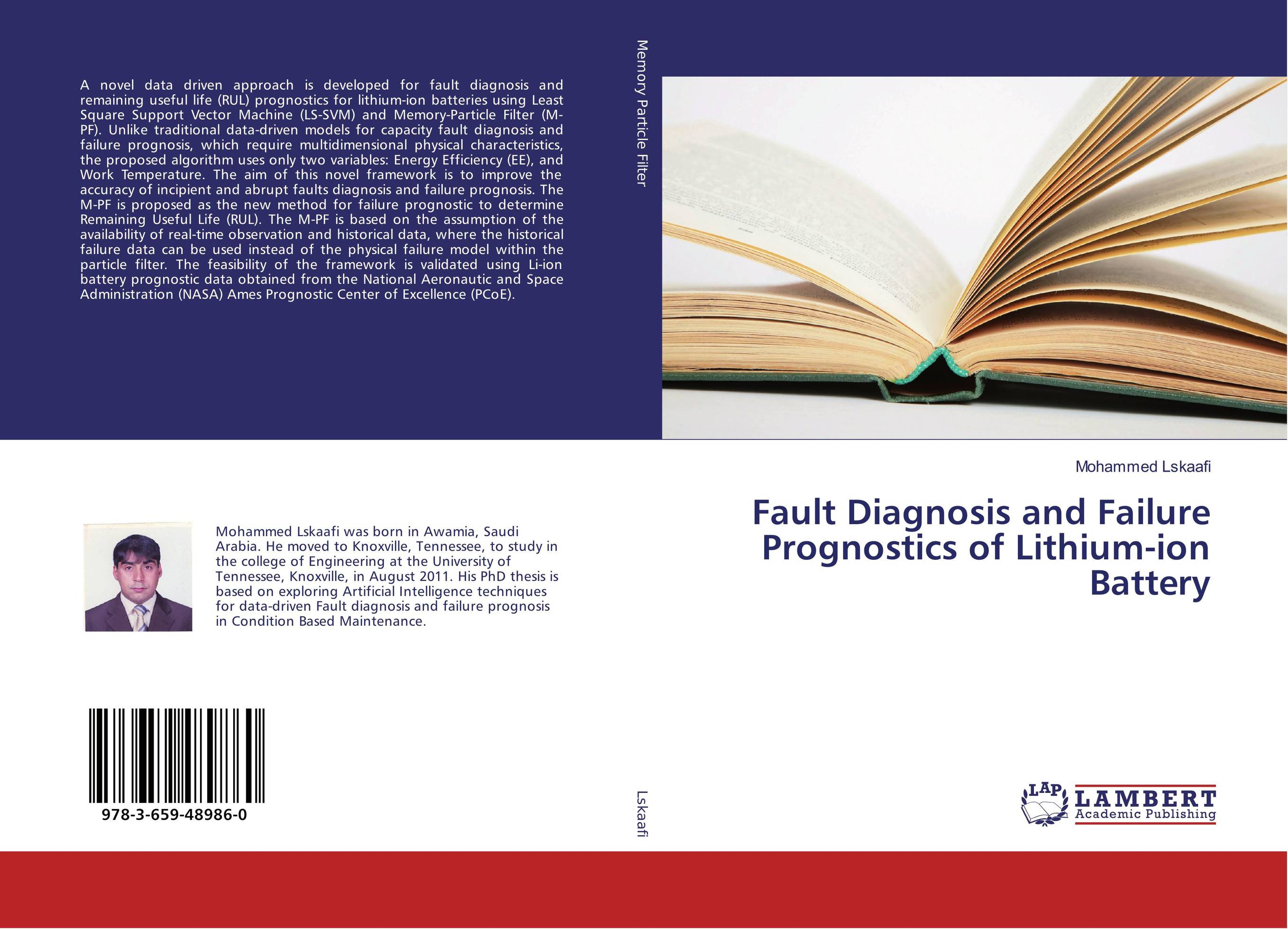 Fault Diagnosis and Failure Prognostics of Lithium-ion Battery driven to distraction