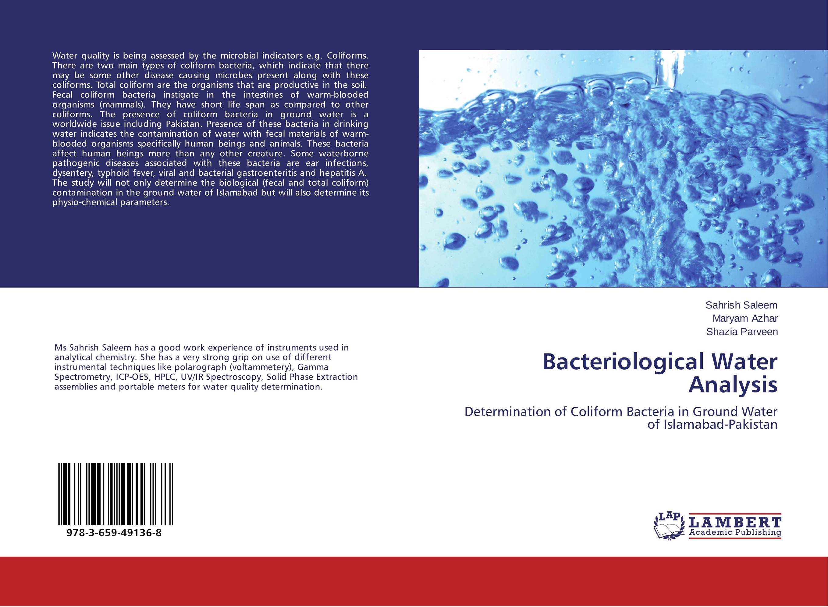 все цены на Bacteriological Water Analysis