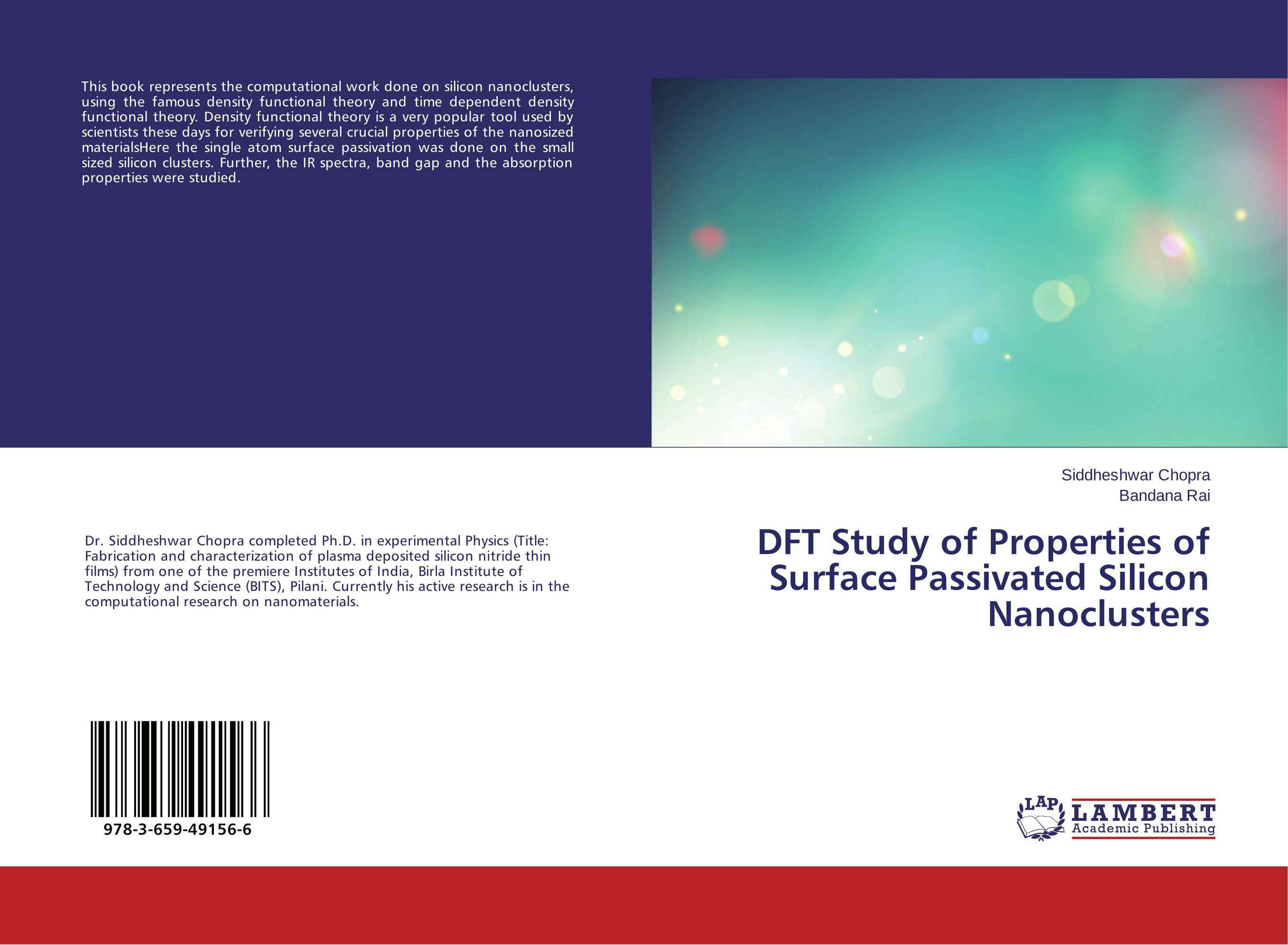 DFT Study of Properties of Surface Passivated Silicon Nanoclusters epidemiological study on the functional gastrointestinal disorders