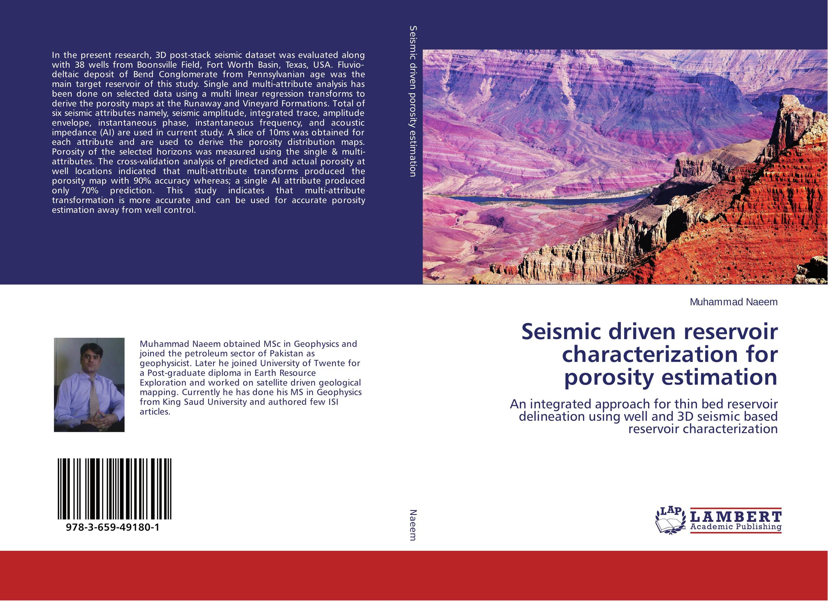 Seismic driven reservoir characterization for porosity estimation driven to distraction