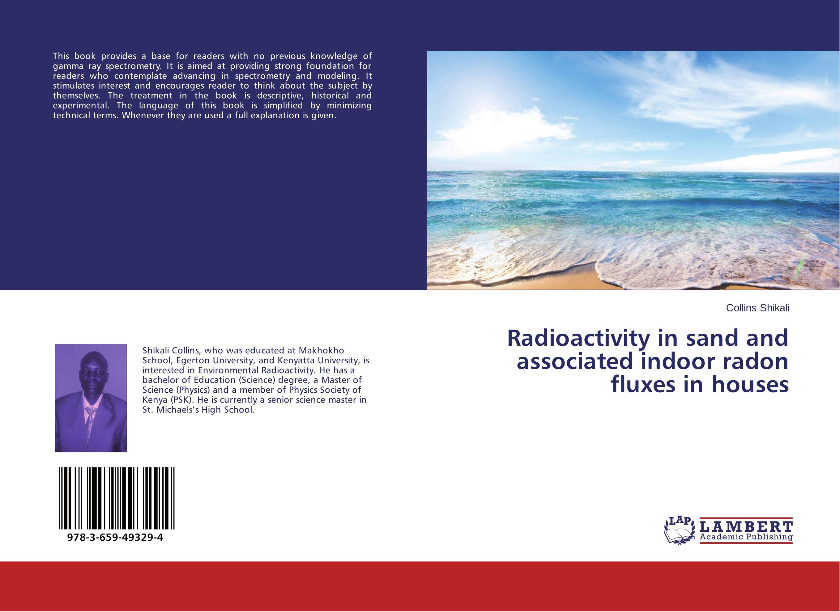 Radioactivity in sand and associated indoor radon fluxes in houses