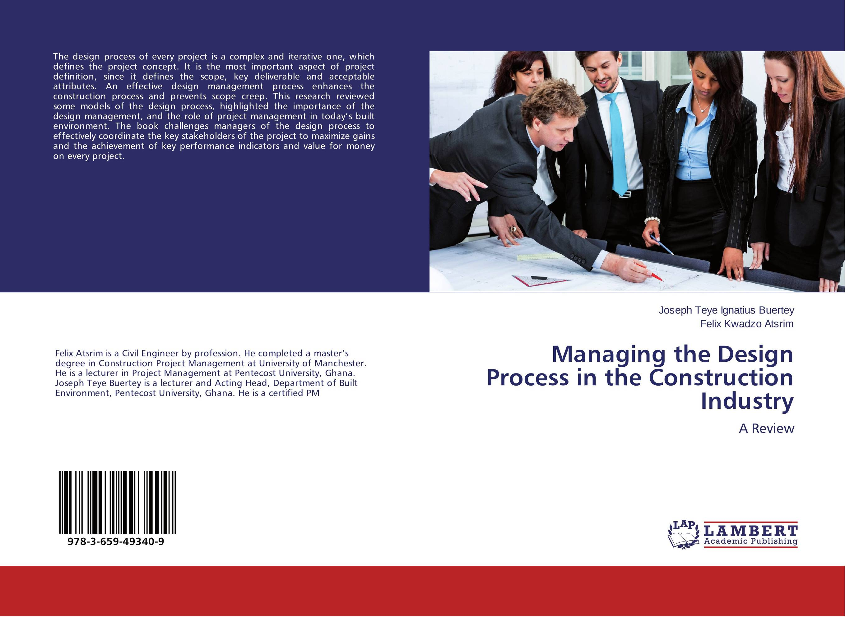 Managing the Design Process in the Construction Industry david parmenter key performance indicators
