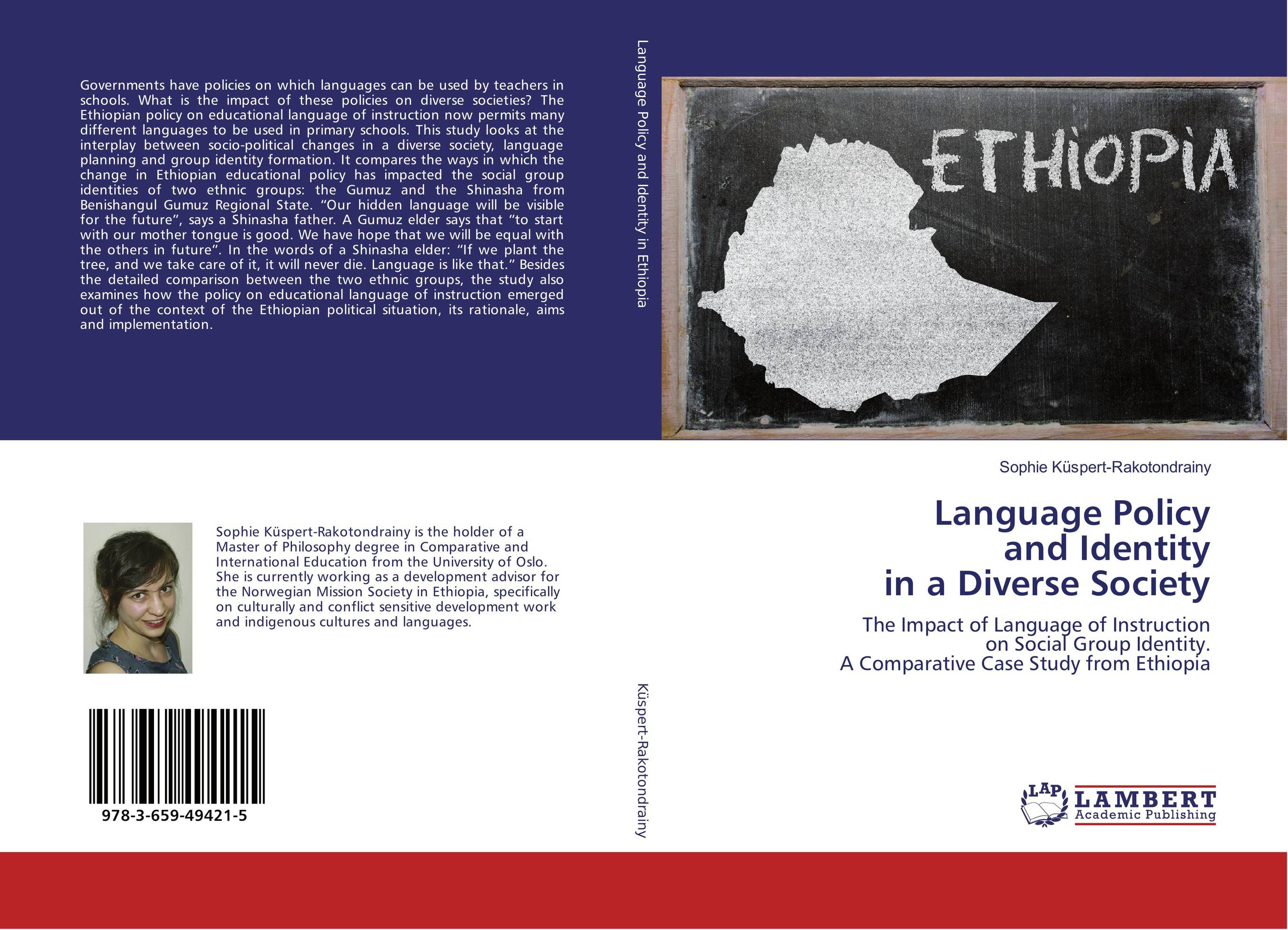 Language Policy and Identity in a Diverse Society language shift the case of ethiopian kunama