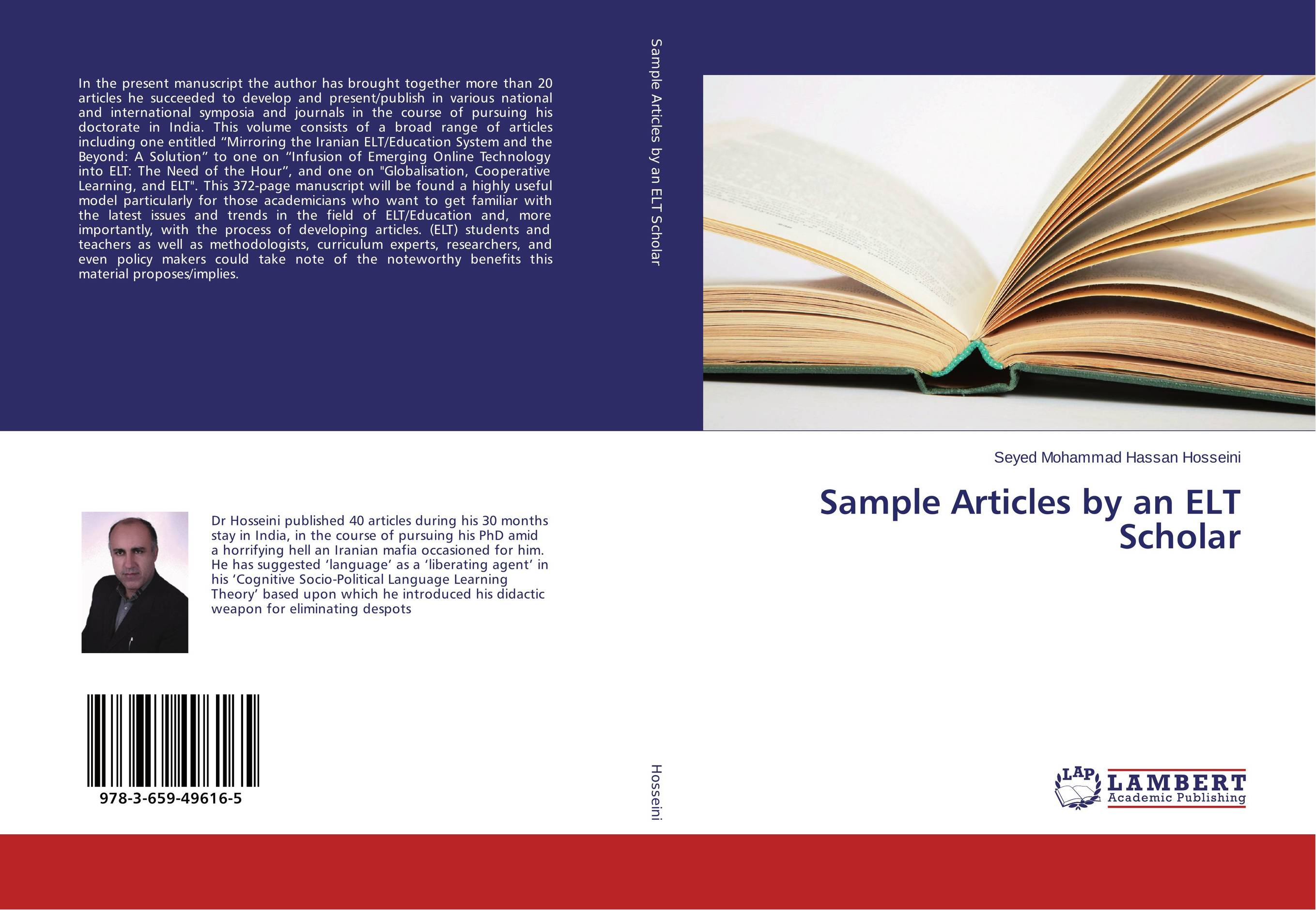 Sample Articles by an ELT Scholar manuscript found in accra