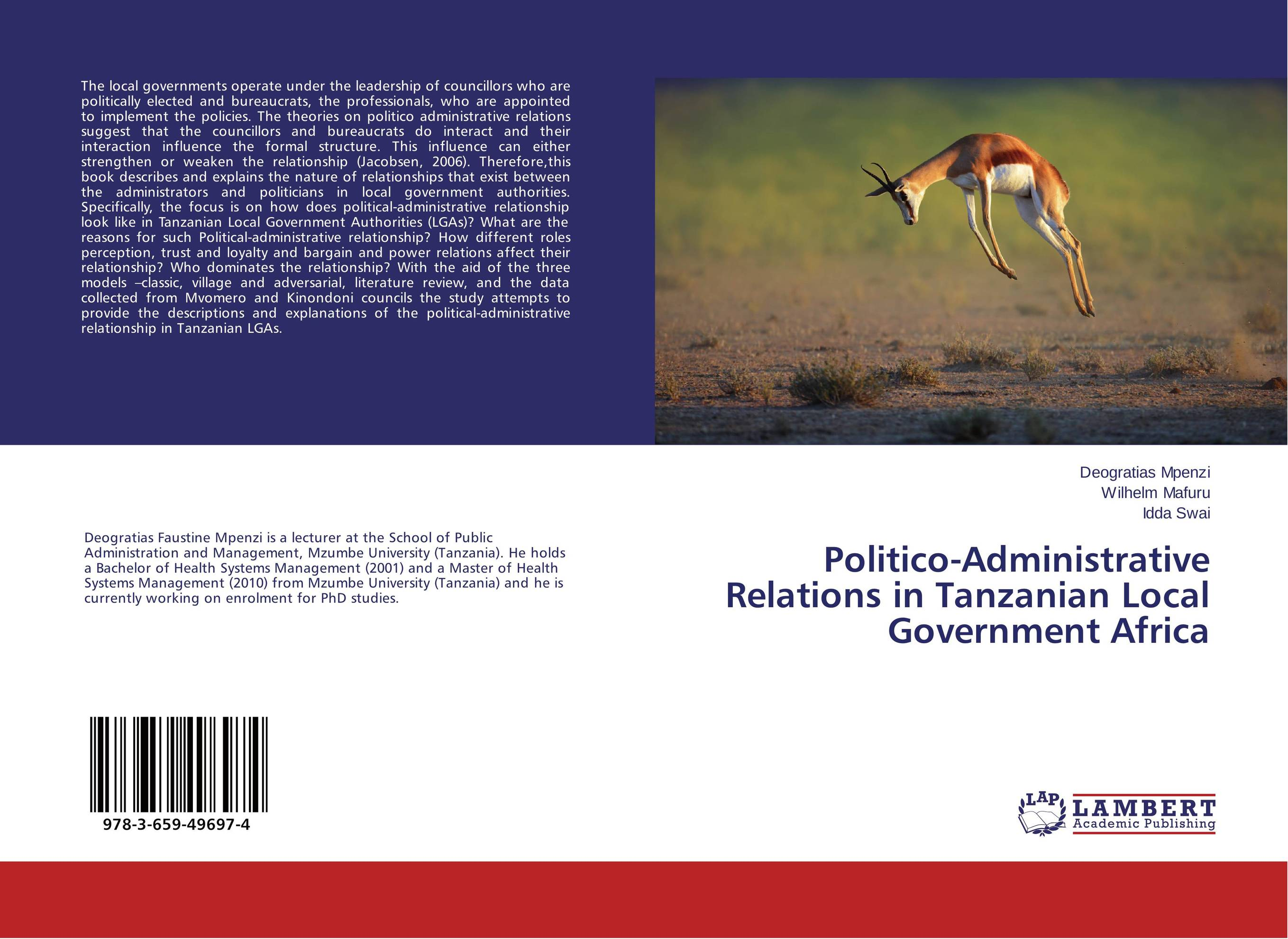 Politico-Administrative Relations in Tanzanian Local Government Africa influence of economic relations on bilateral relations