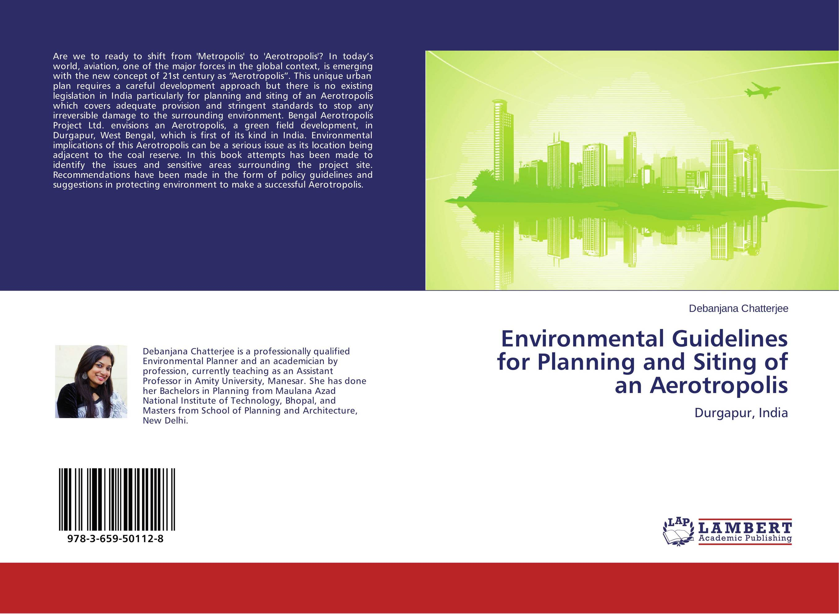Environmental Guidelines for Planning and Siting of an Aerotropolis optimal and efficient motion planning of redundant robot manipulators