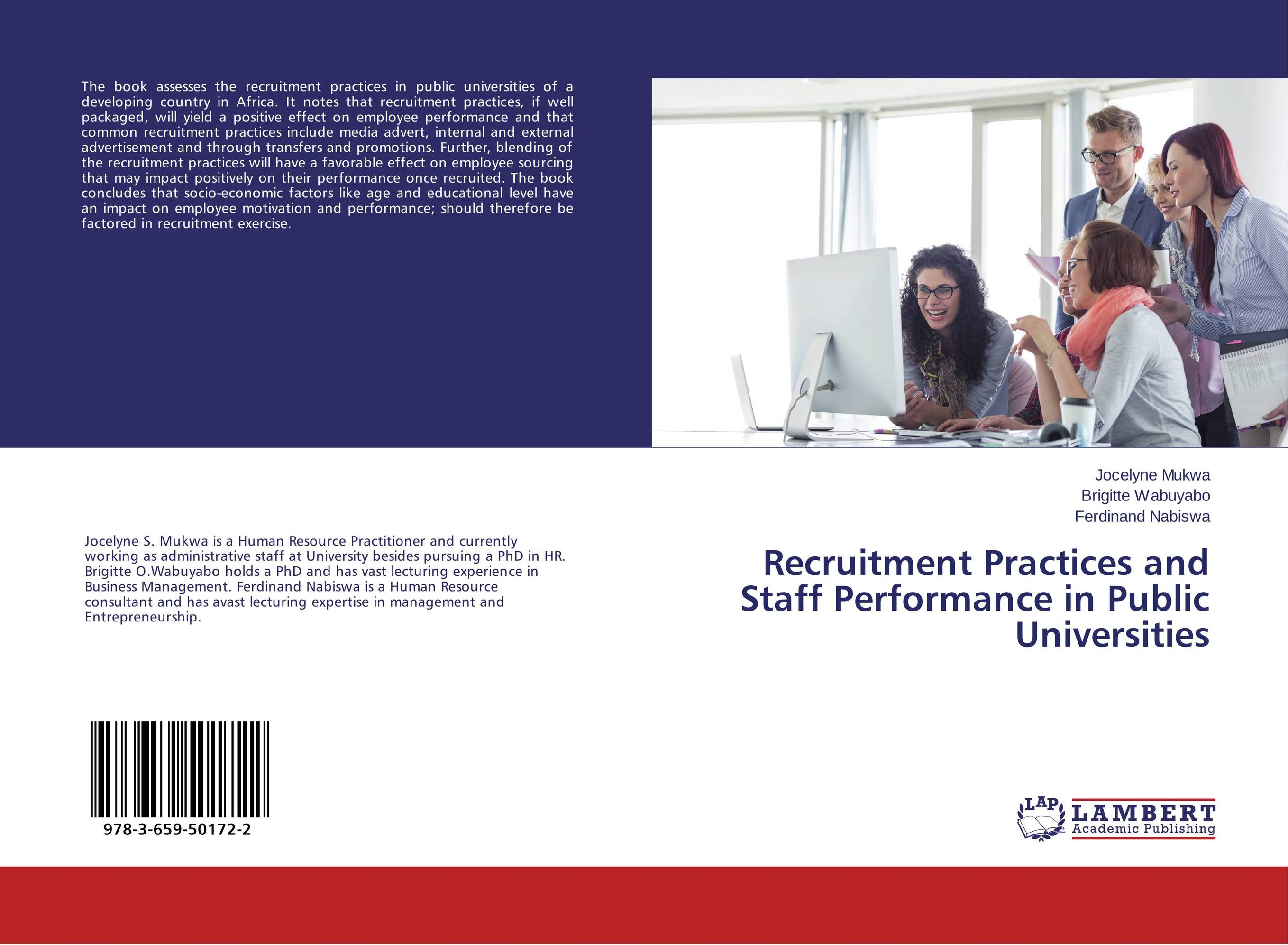 Recruitment Practices and Staff Performance in Public Universities the impact of motivation related reform on employee performance