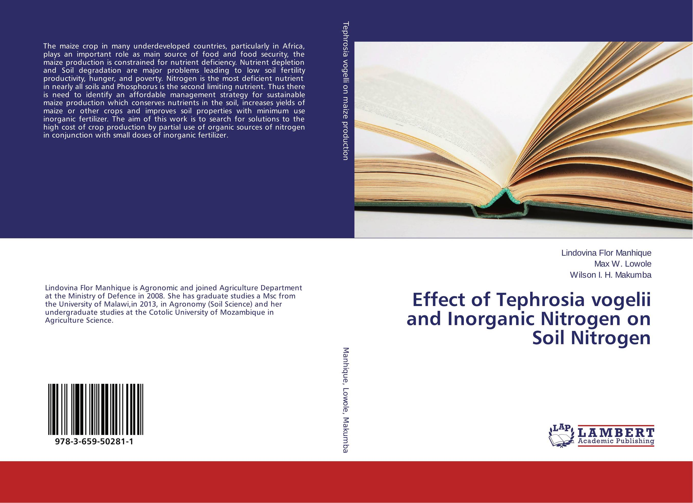 Effect of Tephrosia vogelii and Inorganic Nitrogen on Soil Nitrogen nutrient management strategy on groundnut