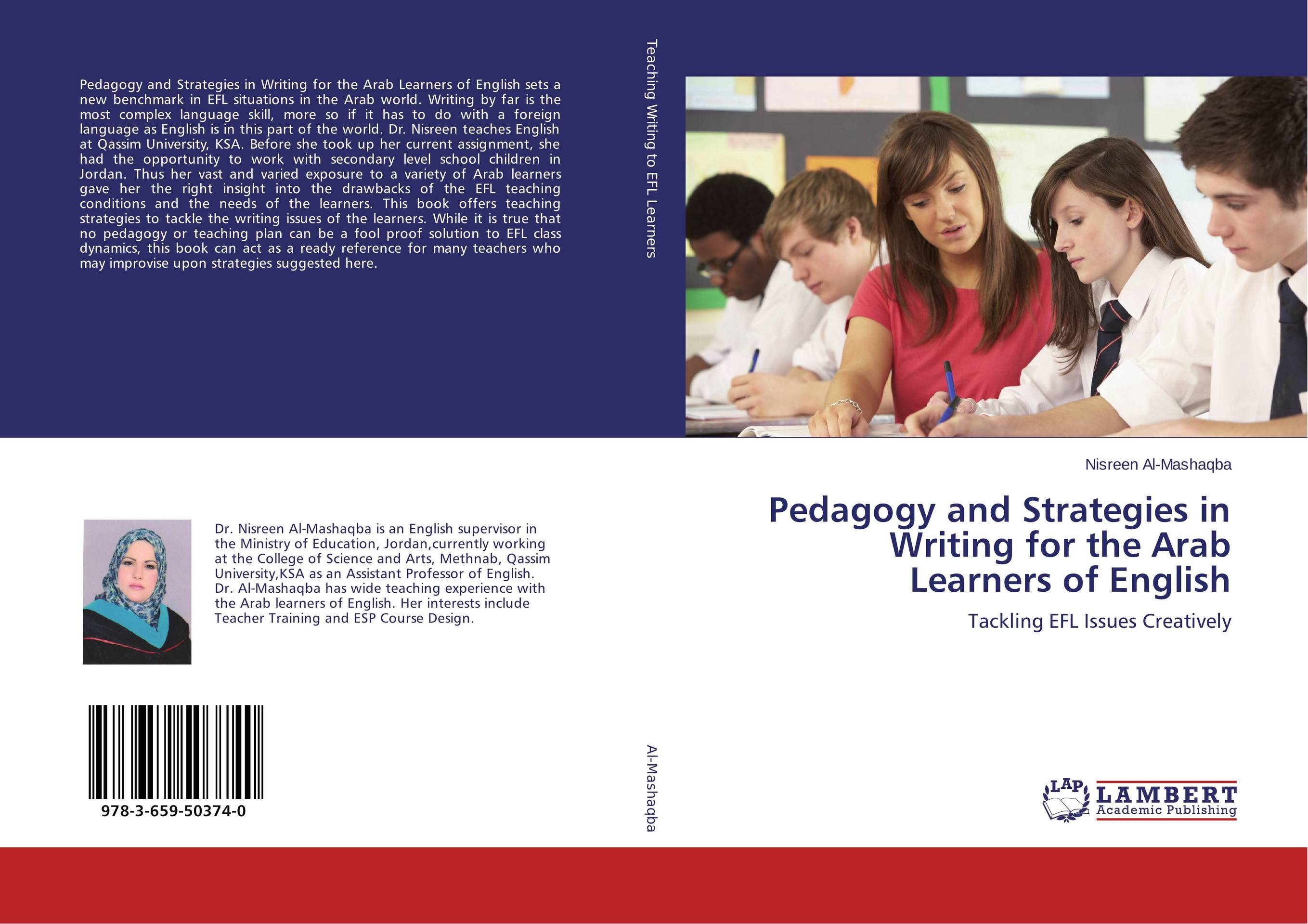 Pedagogy and Strategies in Writing for the Arab Learners of English the role of ict in the teaching of english as a foreign language efl
