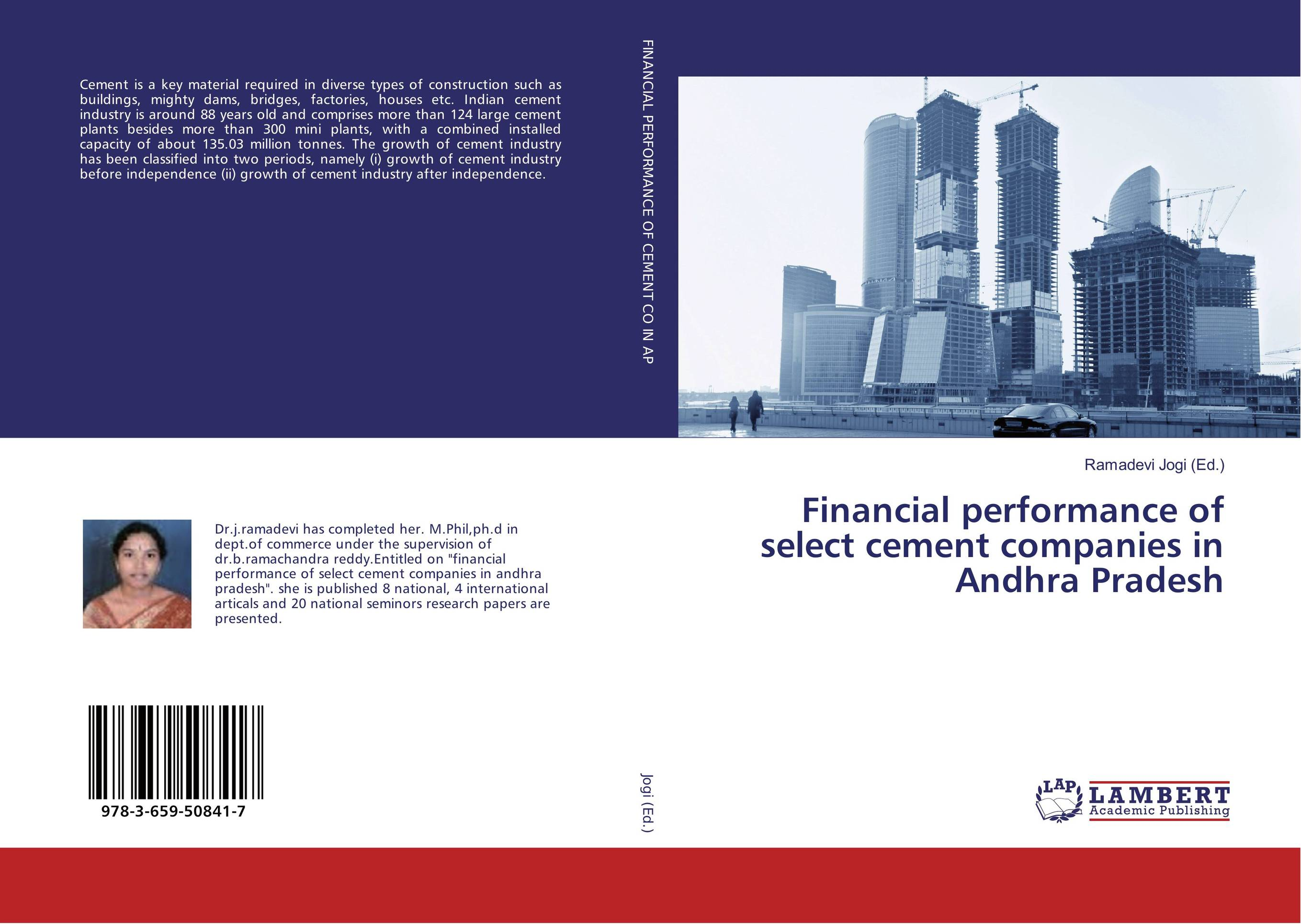 Financial performance of select cement companies in Andhra Pradesh financial performance of lanco industries limited in chittoor district