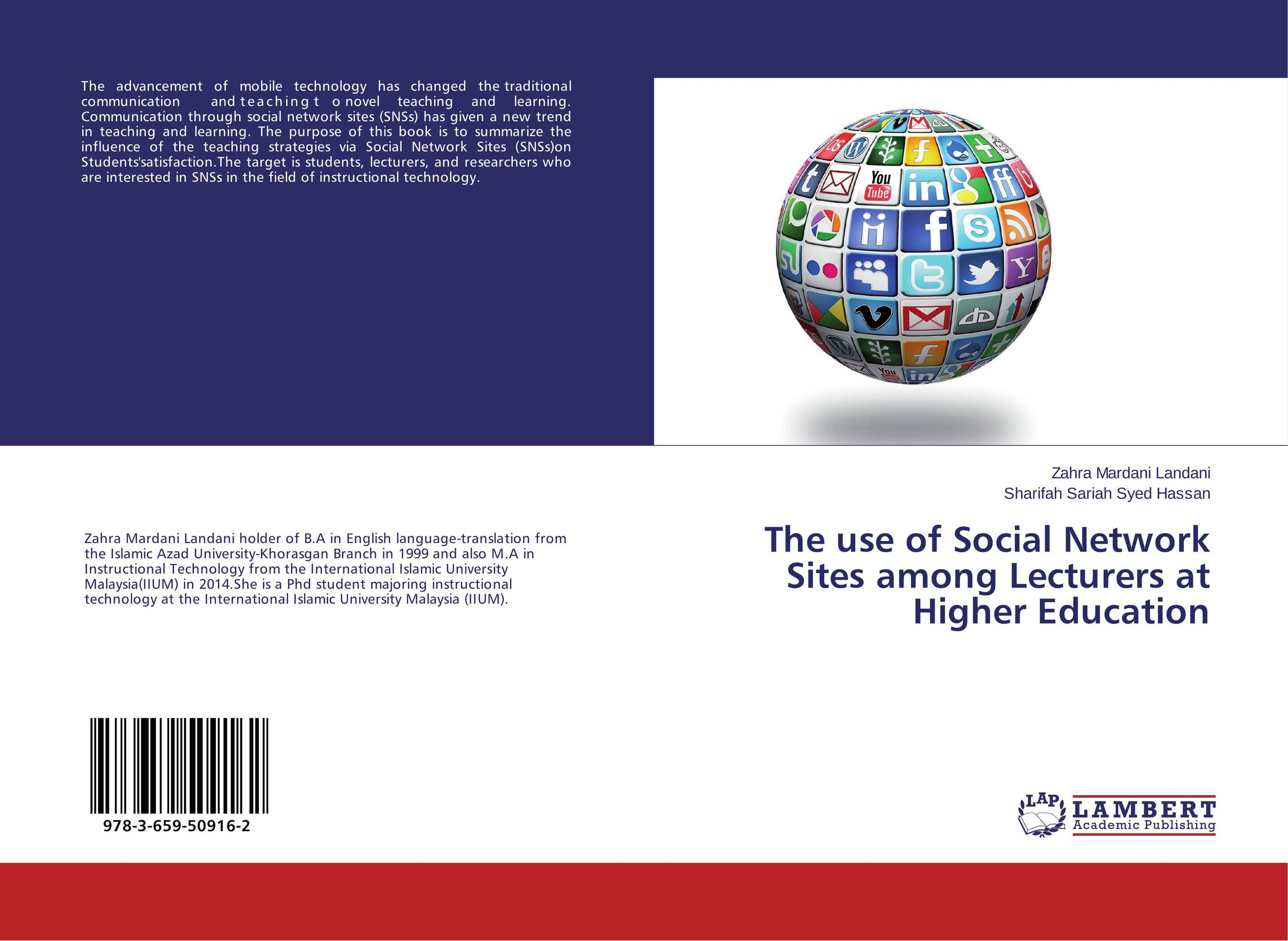 The use of Social Network Sites among Lecturers at Higher Education learning english language via snss and students academic self efficacy