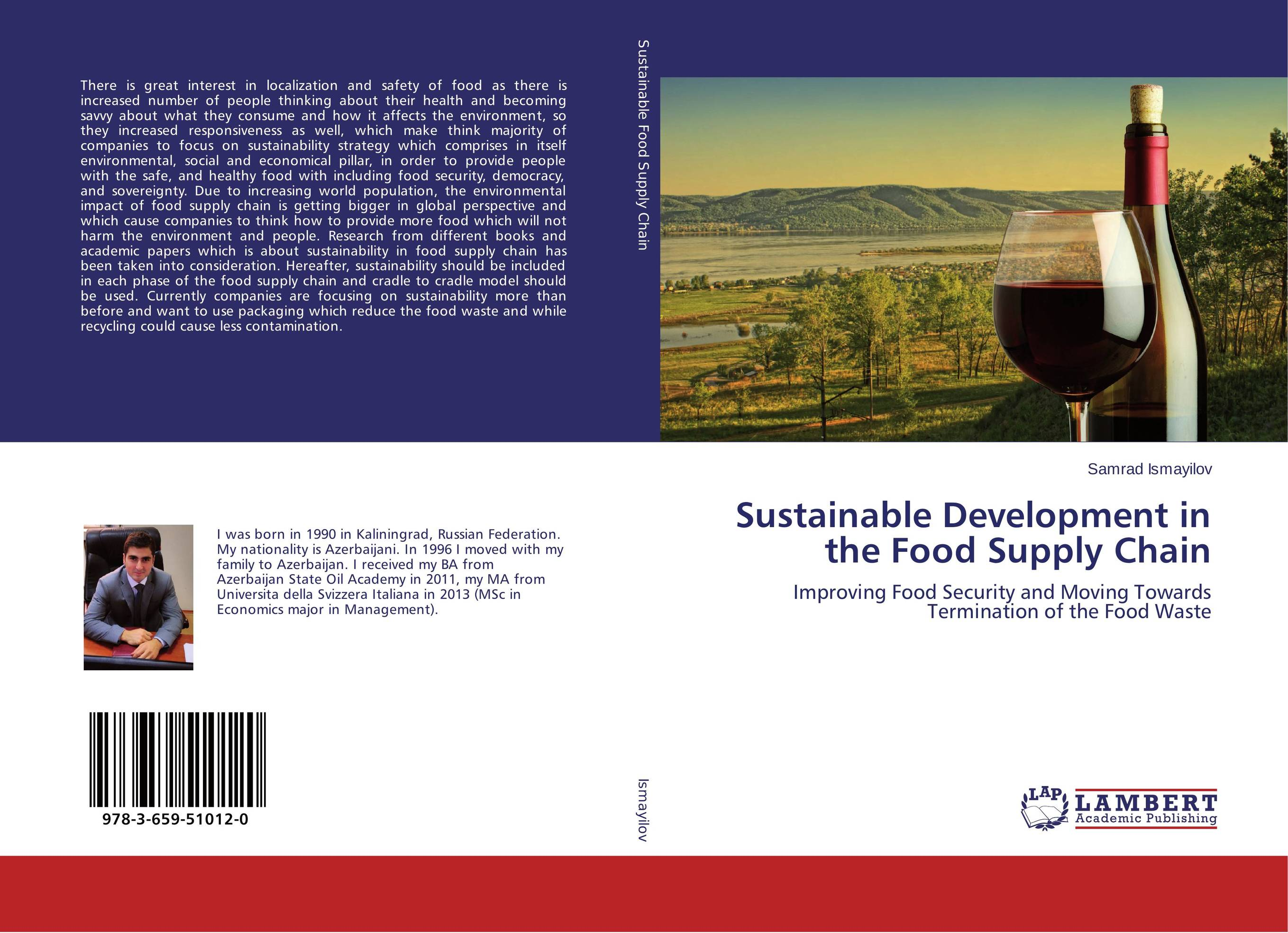 Sustainable Development in the Food Supply Chain cheryl baldwin j the 10 principles of food industry sustainability