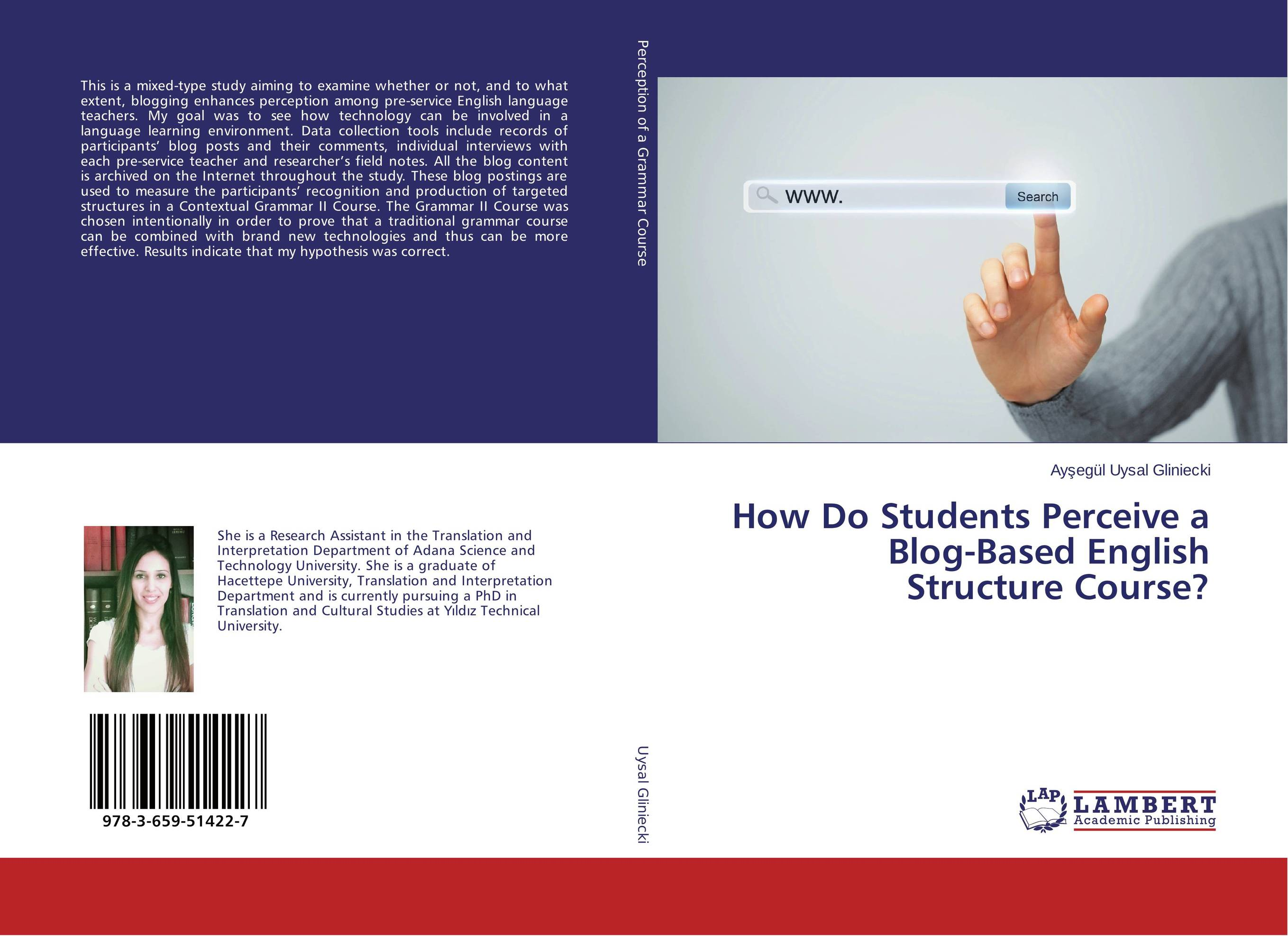 How Do Students Perceive a Blog-Based English Structure Course? ghada abdelhady new des based on elliptic curve