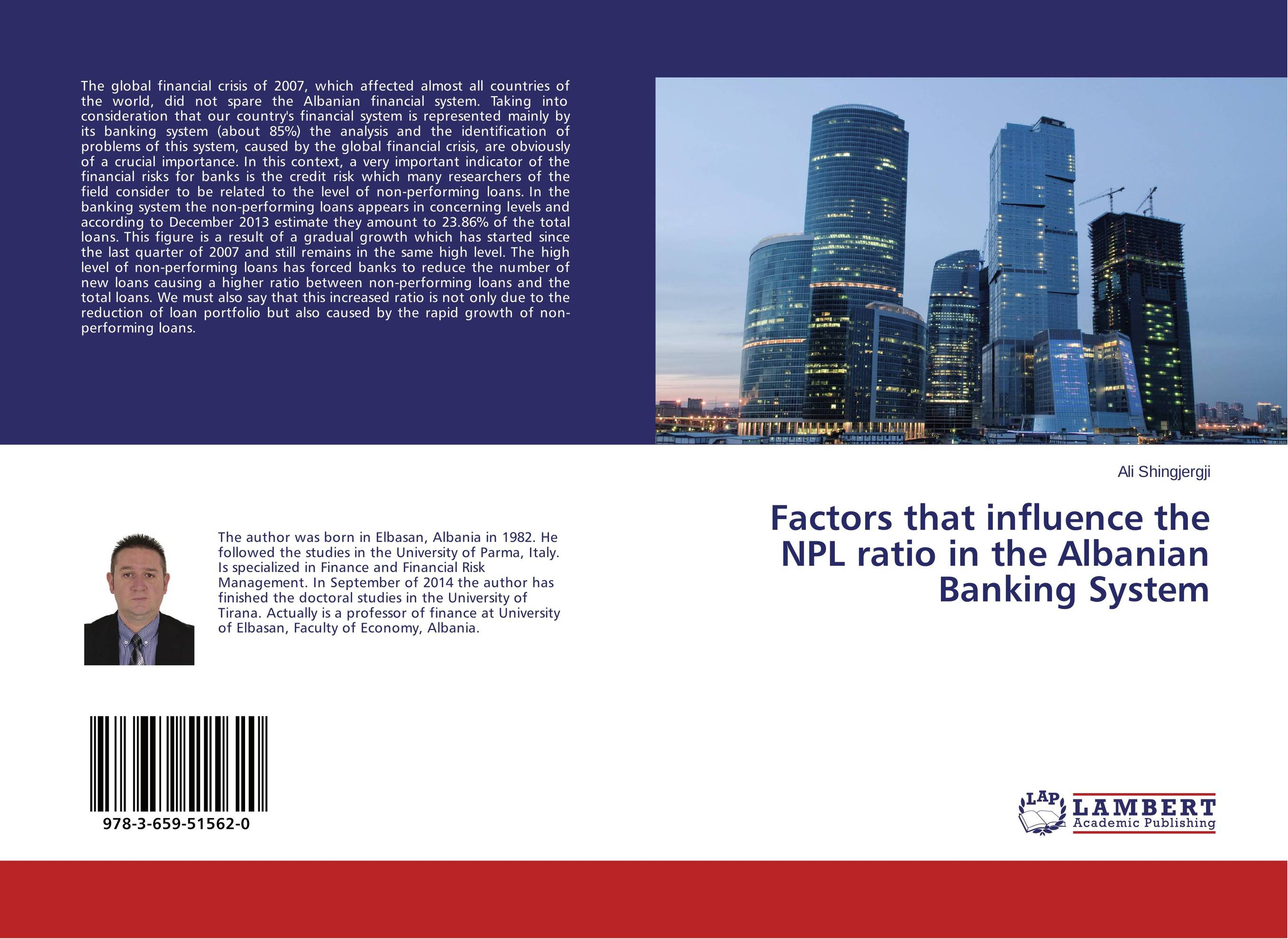 Factors that influence the NPL ratio in the Albanian Banking System npl p 43 37 купить