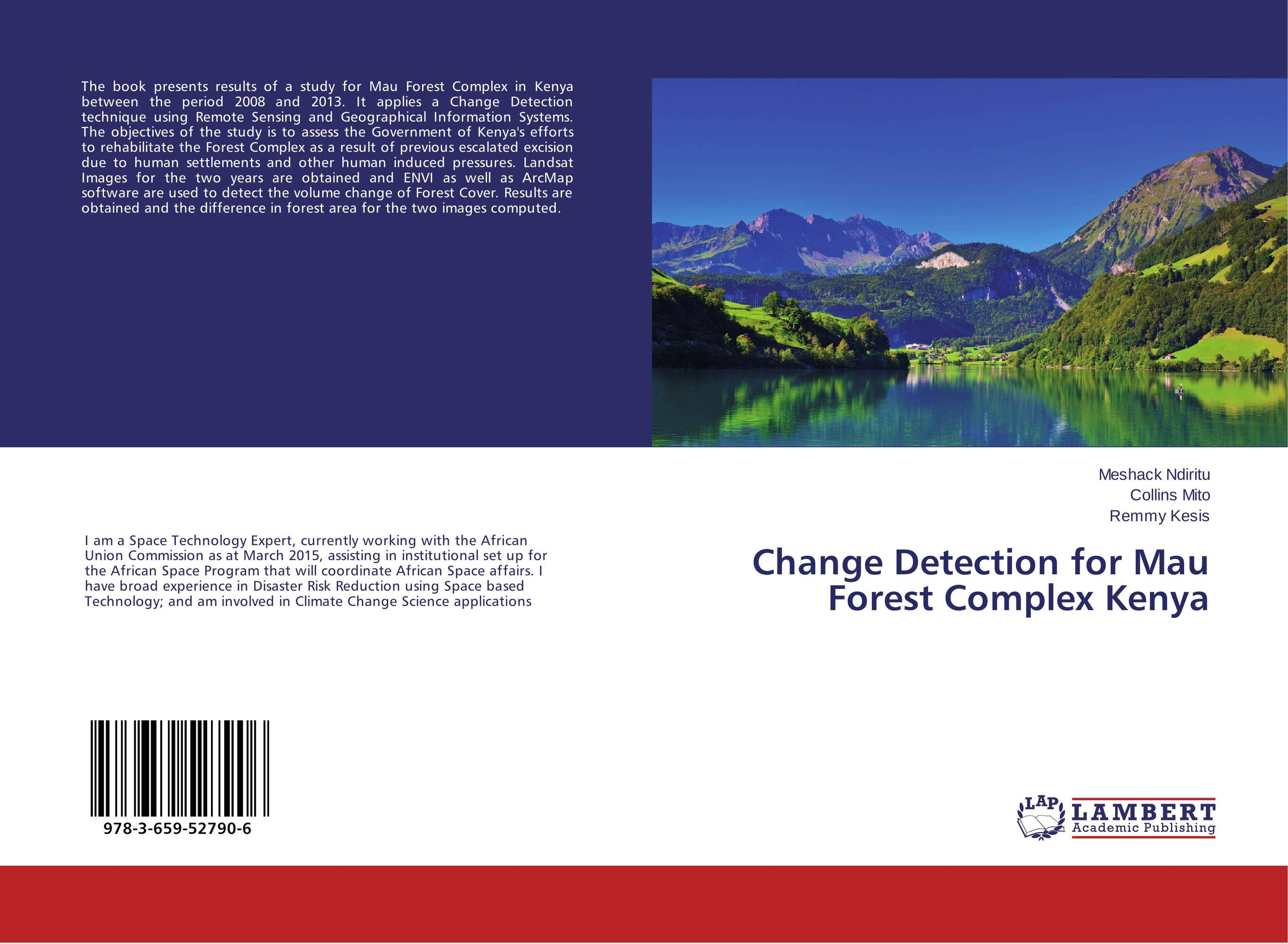 Change Detection for Mau Forest Complex Kenya in situ detection of dna damage methods and protocols