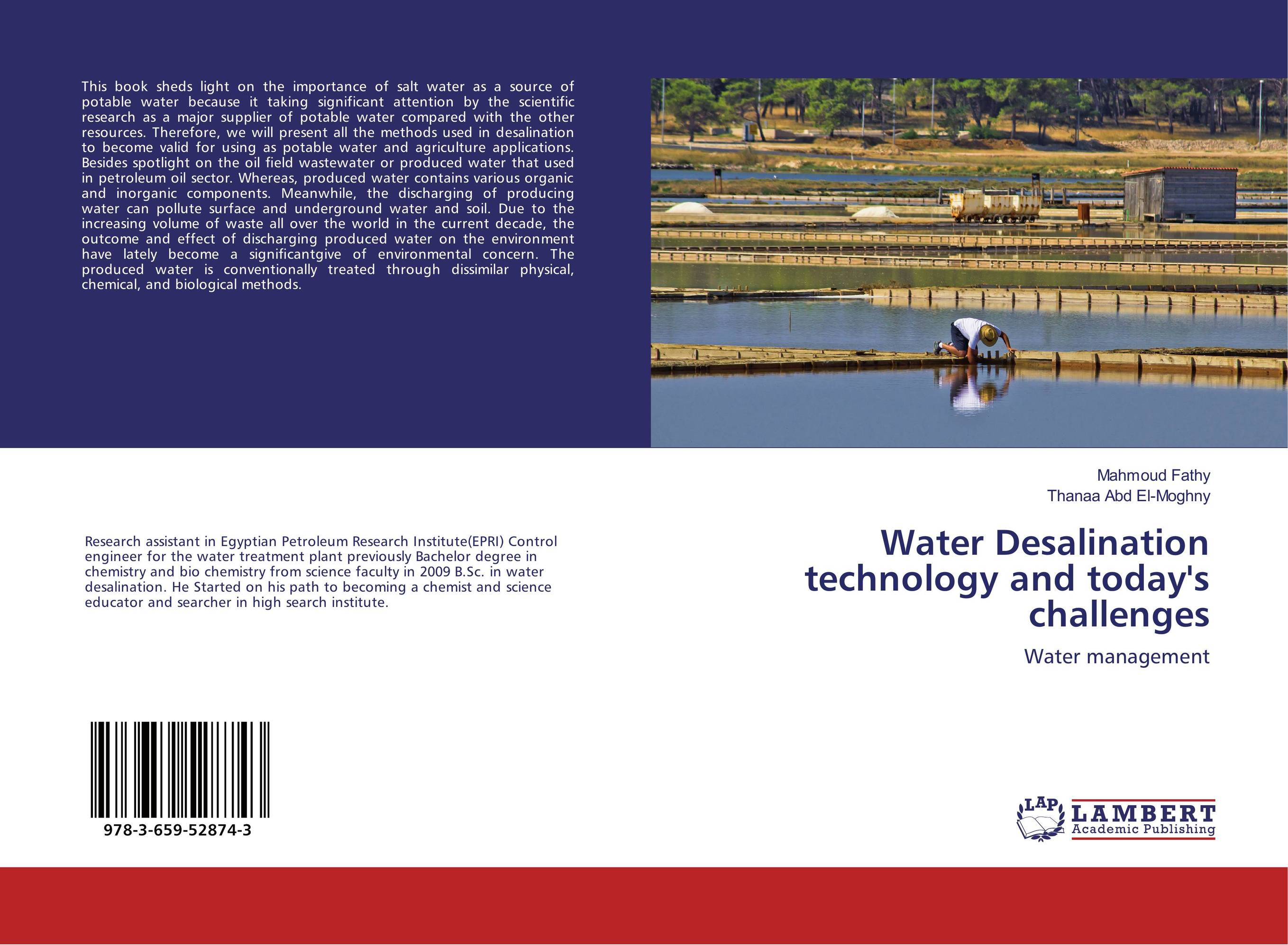 Water Desalination technology and today's challenges bride of the water god v 3