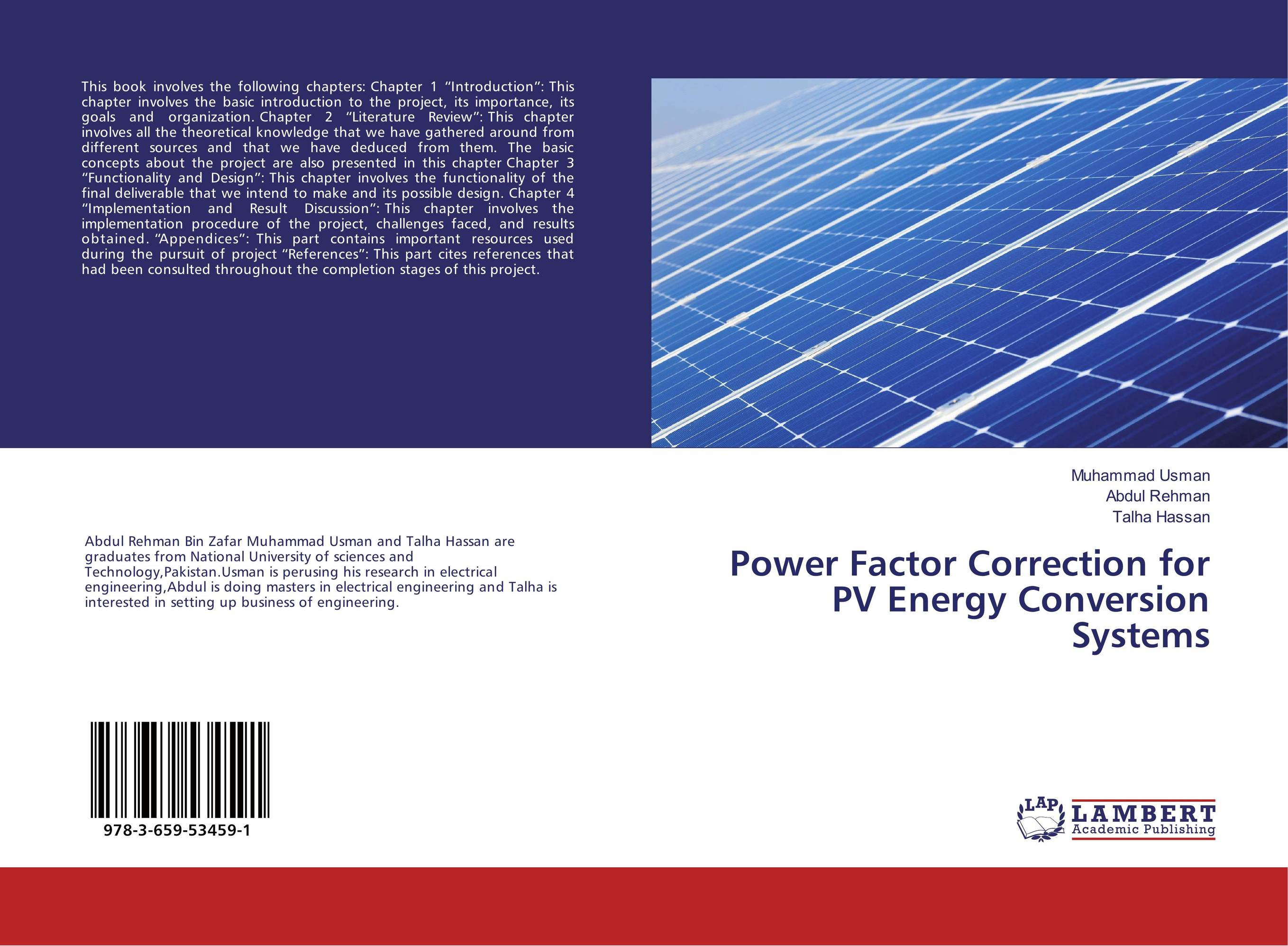 Power Factor Correction for PV Energy Conversion Systems lighthouse project lighthouse project we are the wildflowers