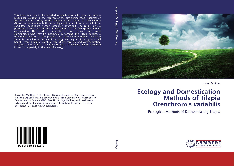 Ecology and Domestication Methods of Tilapia Oreochromis variabilis ellen the scientific examination of documents – methods