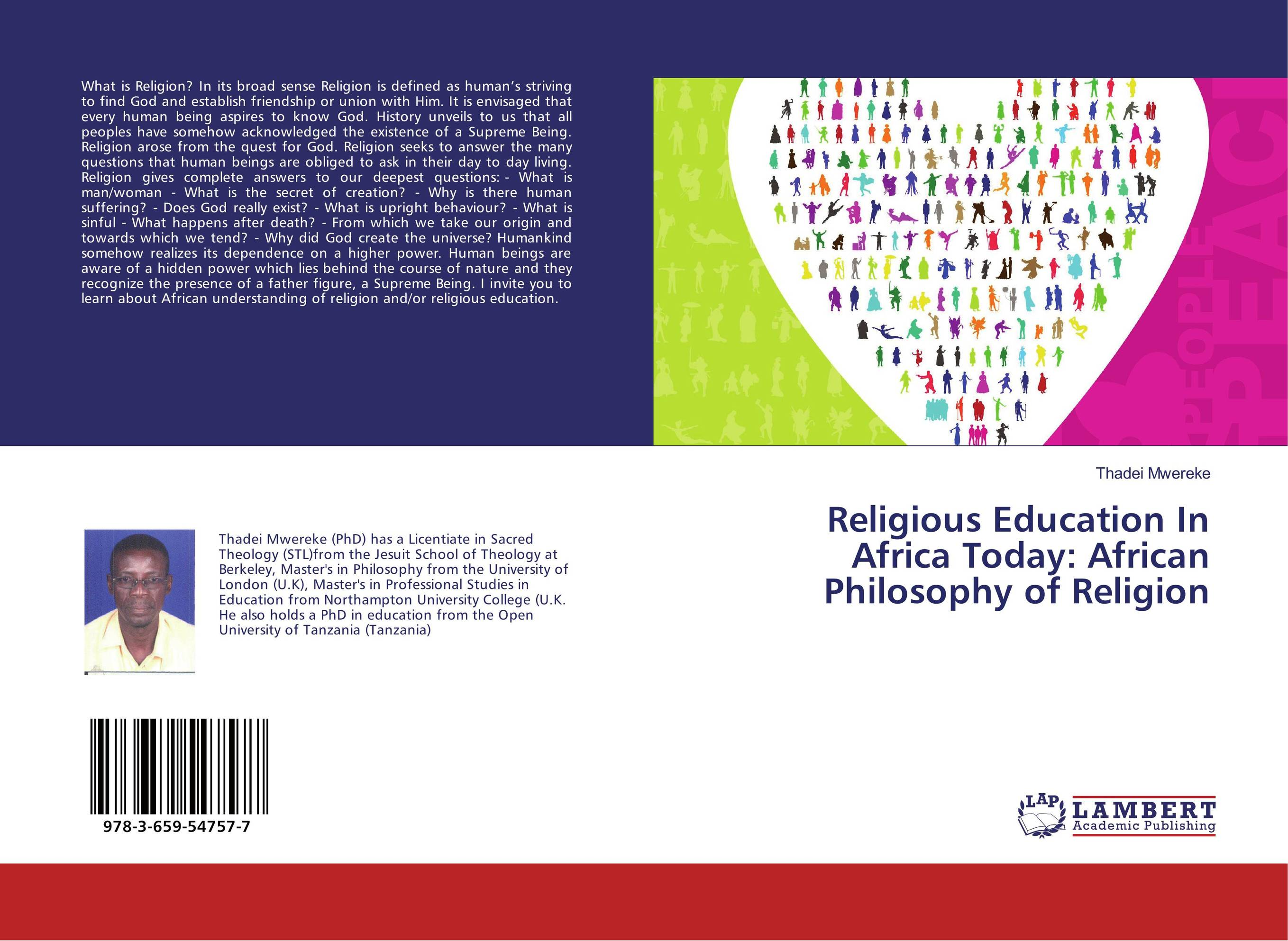 Religious Education In Africa Today: African Philosophy of Religion religious education in comparative perspectives
