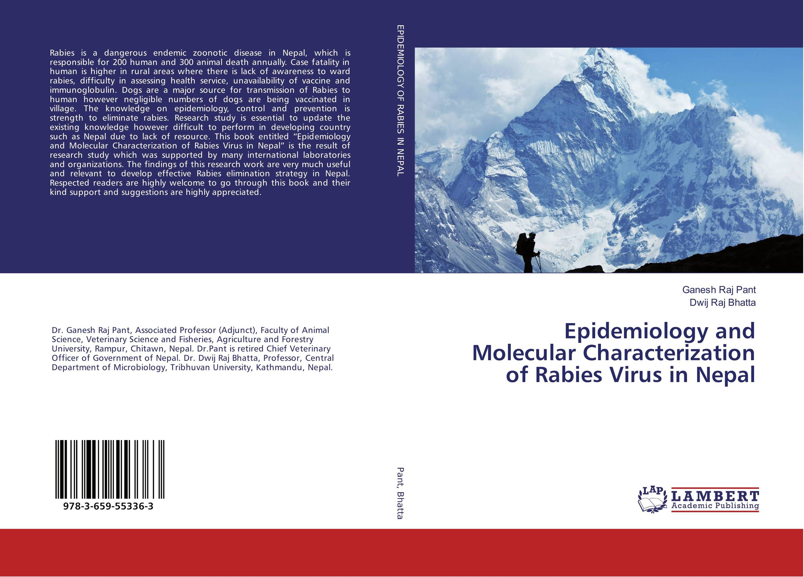 Epidemiology and Molecular Characterization of Rabies Virus in Nepal anil arjun hake sanjay jha and suman kumar jha molecular and biochemical characterization of karanja derris indica