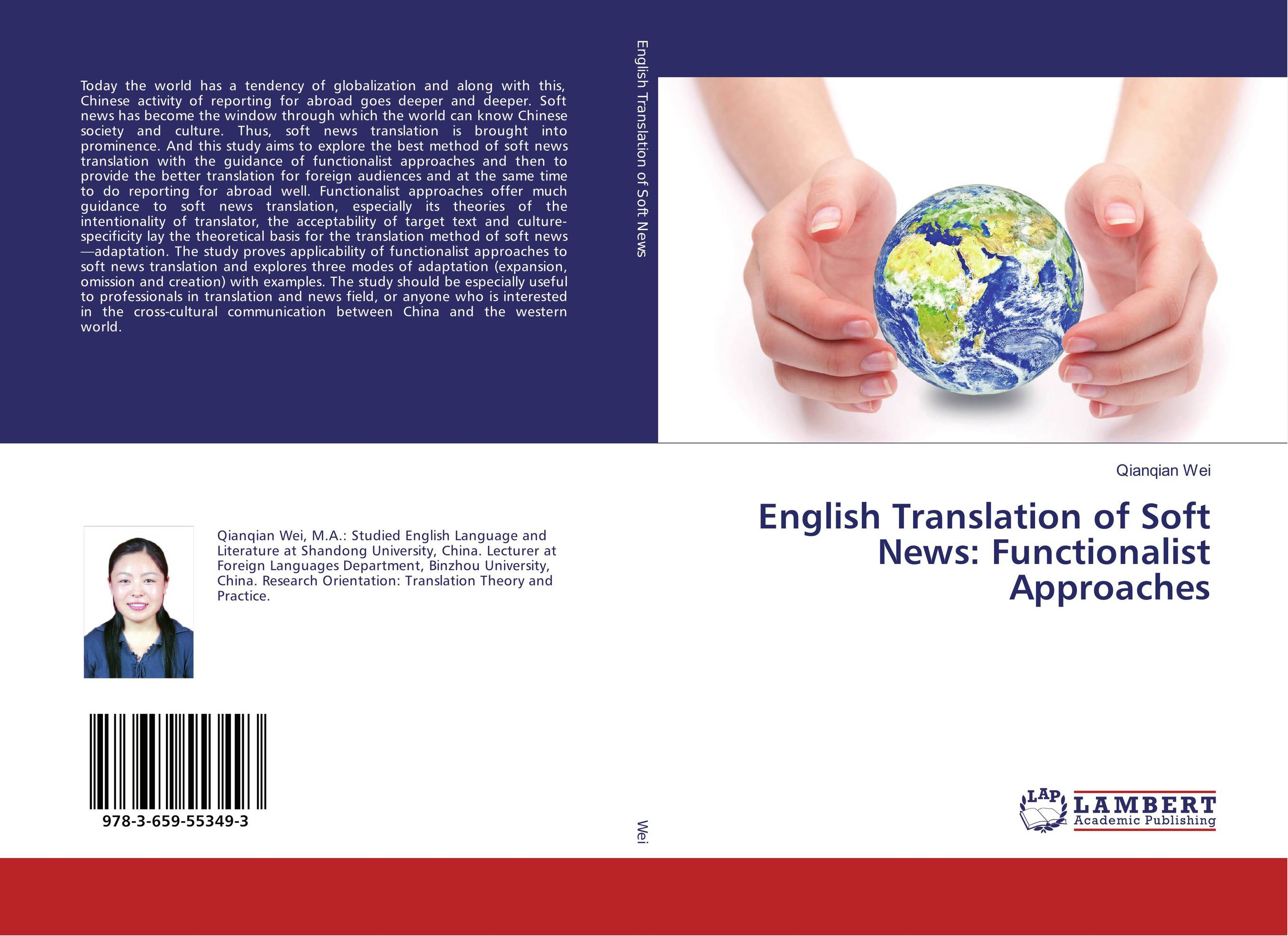 English Translation of Soft News: Functionalist Approaches the handbook of translation and cognition