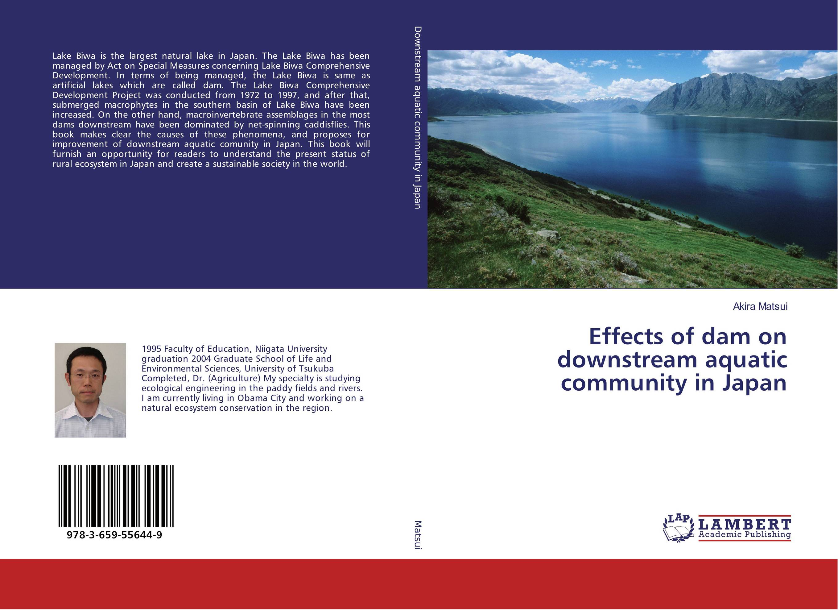 Effects of dam on downstream aquatic community in Japan the lake