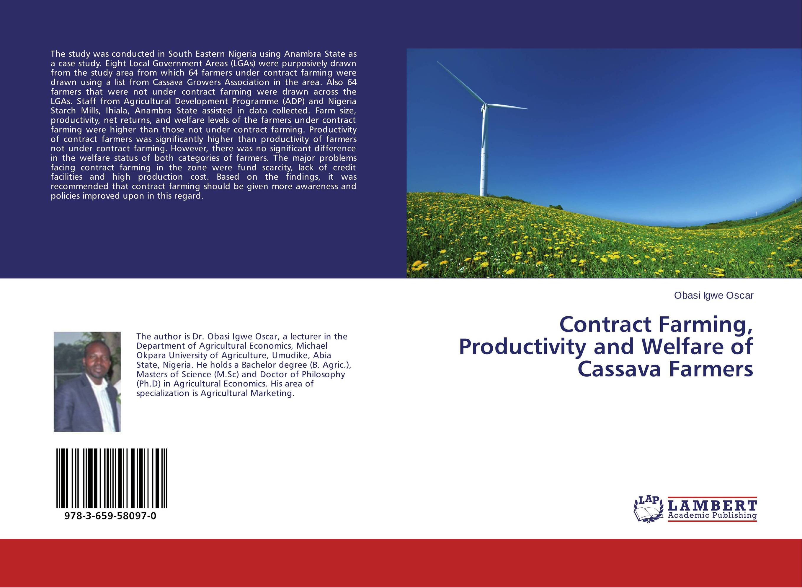 Contract Farming, Productivity and Welfare of Cassava Farmers