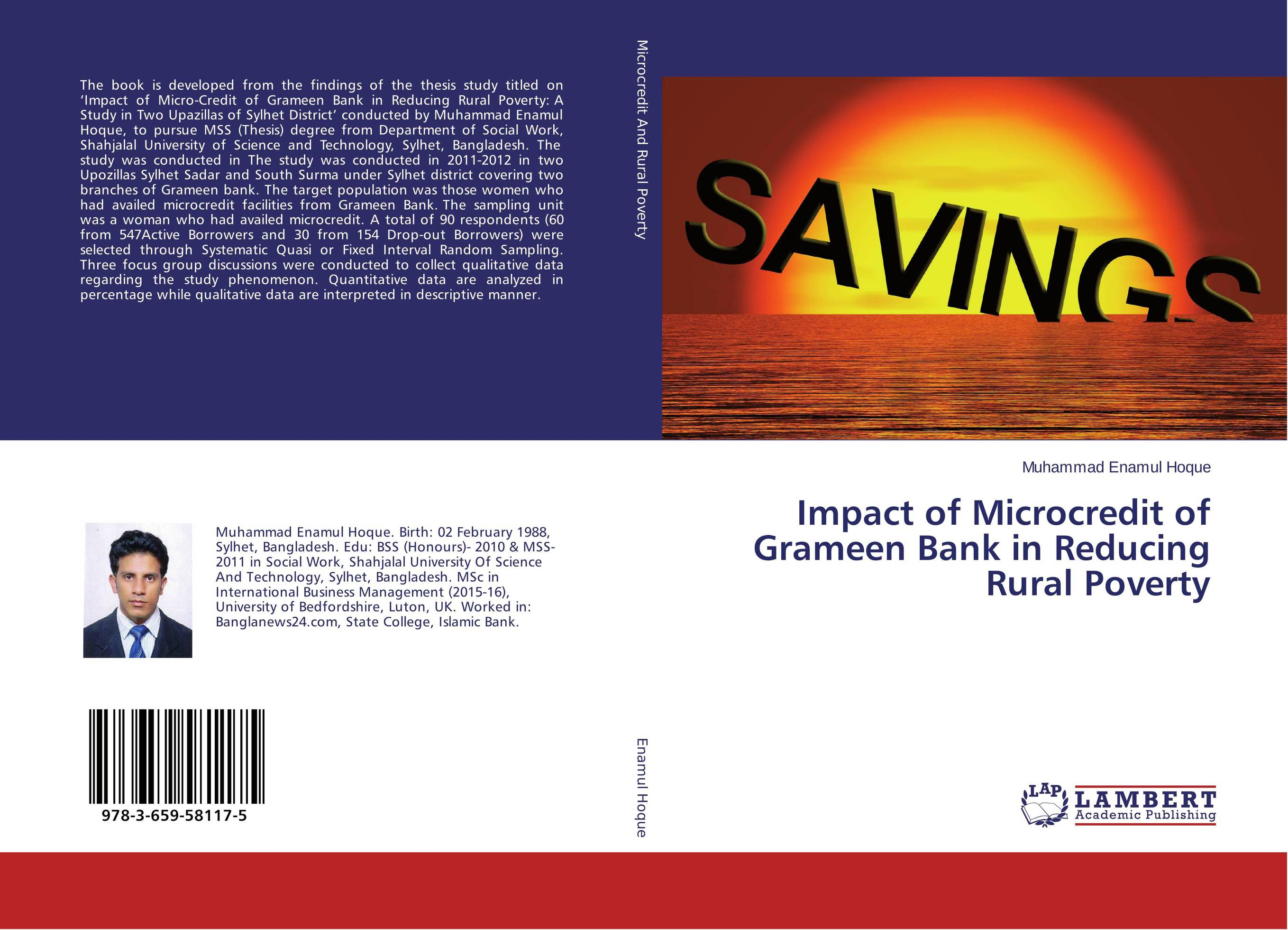 Impact of Microcredit of Grameen Bank in Reducing Rural Poverty
