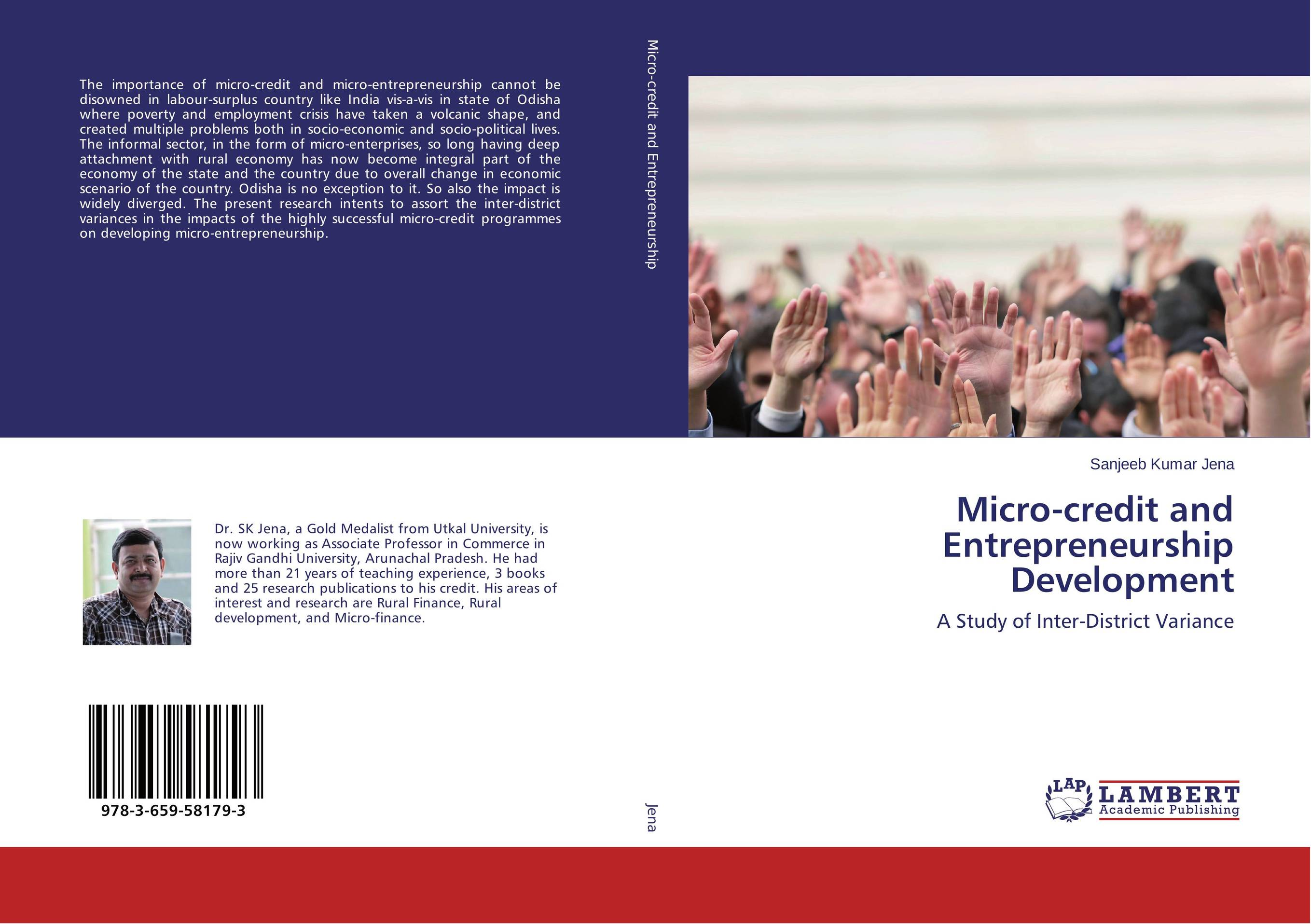 Micro-credit and Entrepreneurship Development john dearie where the jobs are entrepreneurship and the soul of the american economy