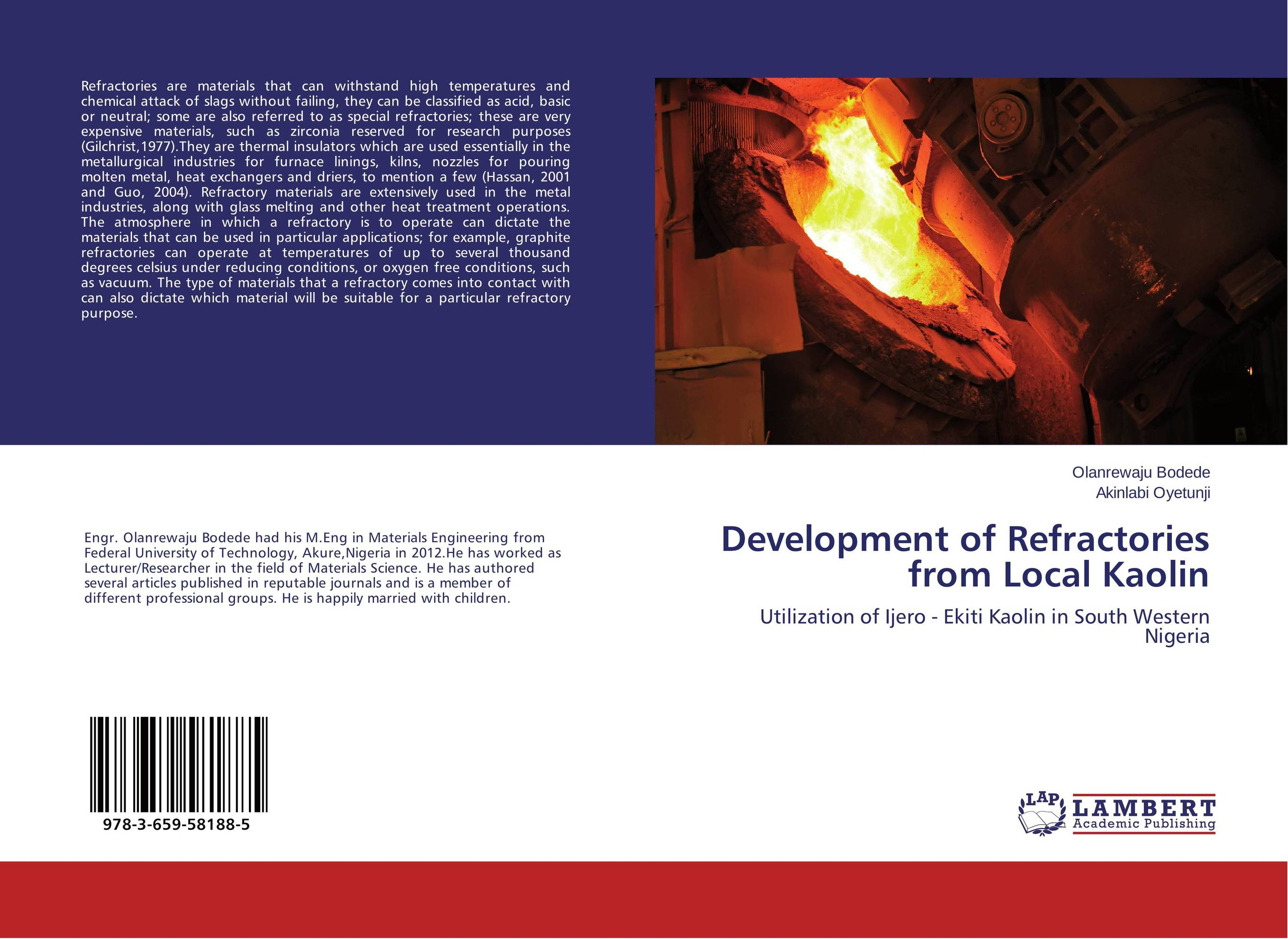 Development of Refractories from Local Kaolin the valves are self acting i e they operate without the supply of auxiliary energy such as electricity or compressed air