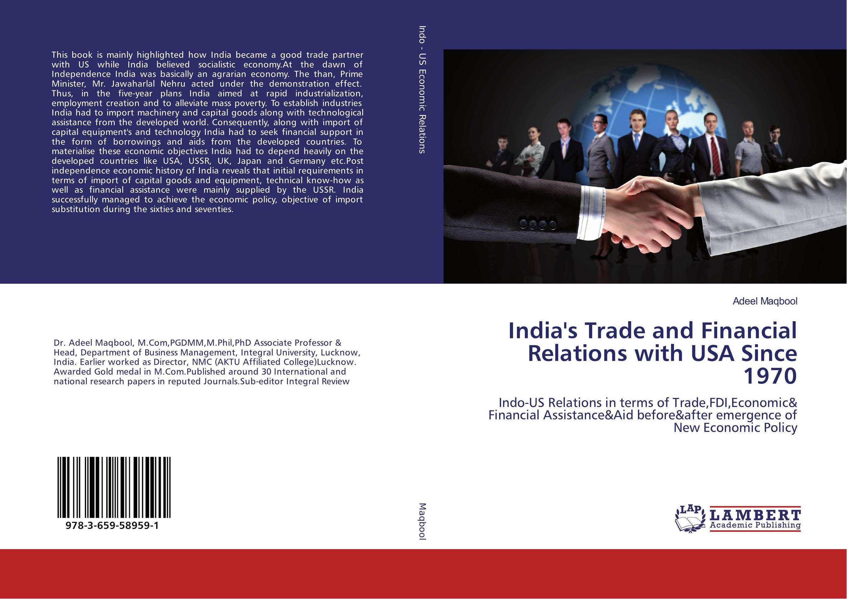 India's Trade and Financial Relations with USA Since 1970 india the constitution of india