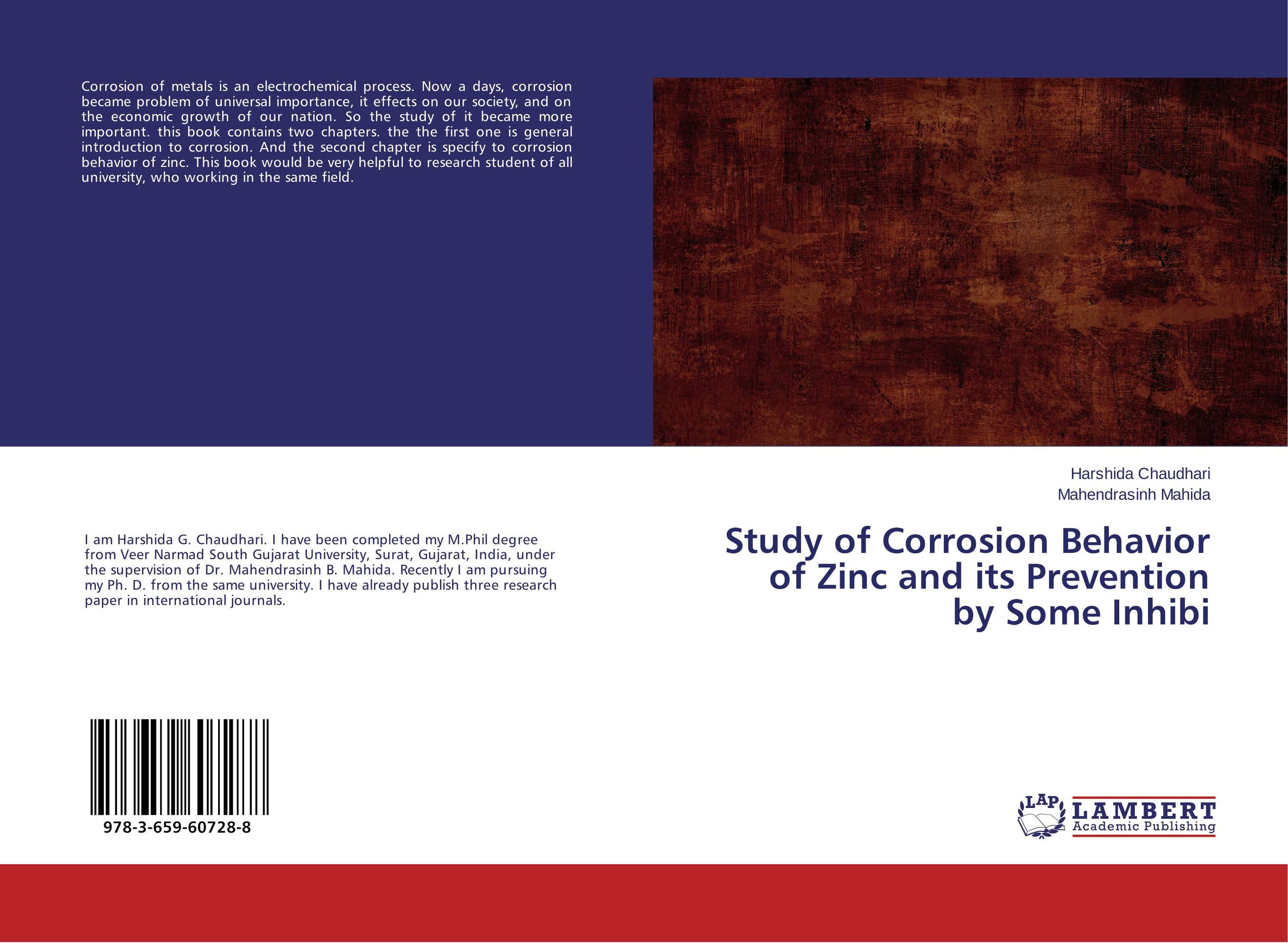 Study of Corrosion Behavior of Zinc and its Prevention by Some Inhibi