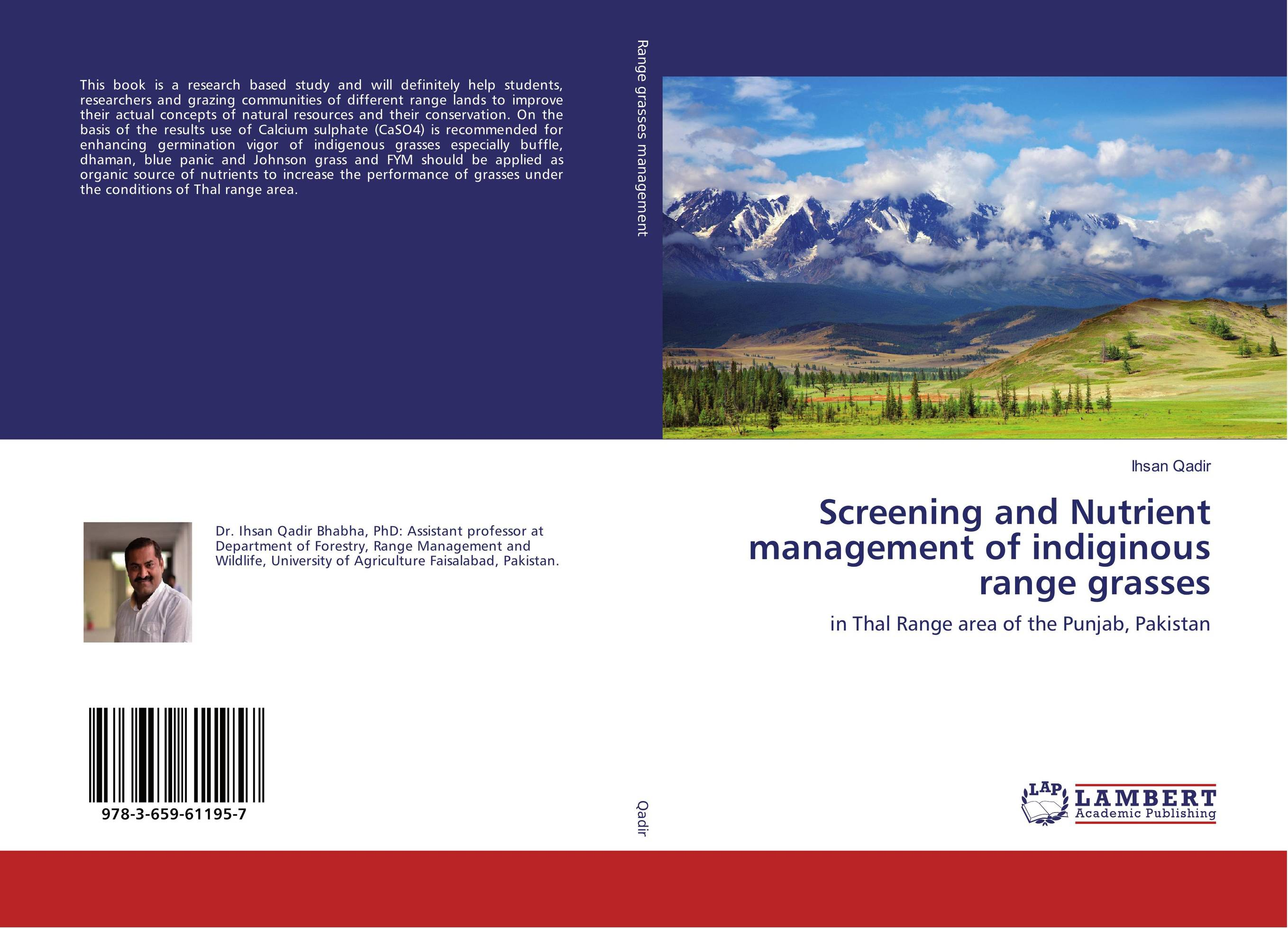 Screening and Nutrient management of indiginous range grasses prostate screening motivating factors and barriers