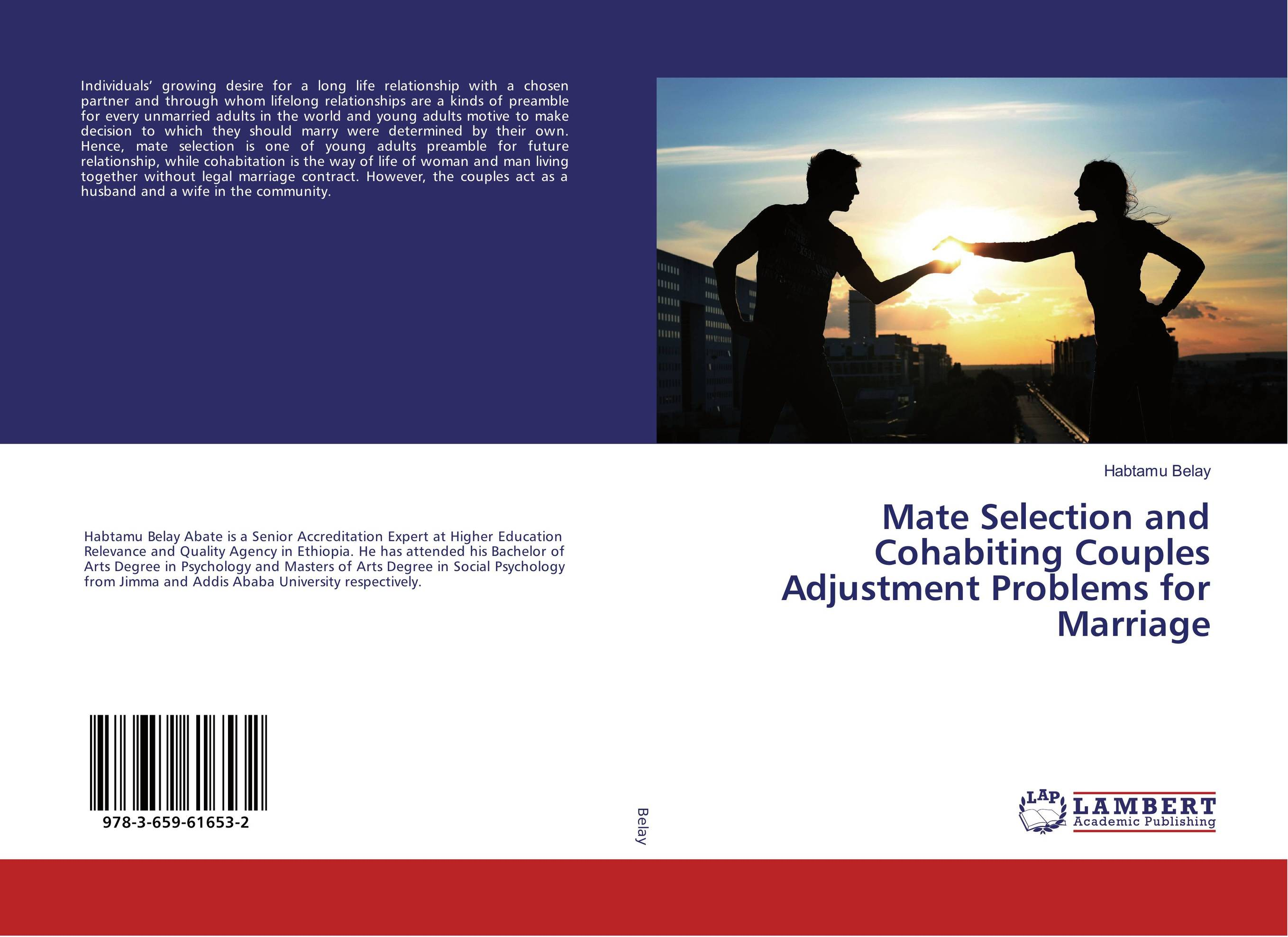 Mate Selection and Cohabiting Couples Adjustment Problems for Marriage john spooner d no one ever told us that money and life lessons for young adults