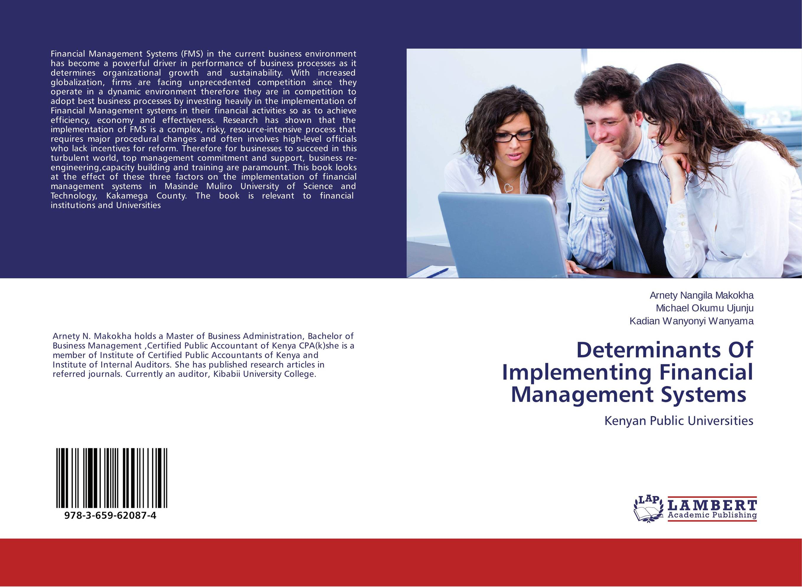 Determinants Of Implementing Financial Management Systems
