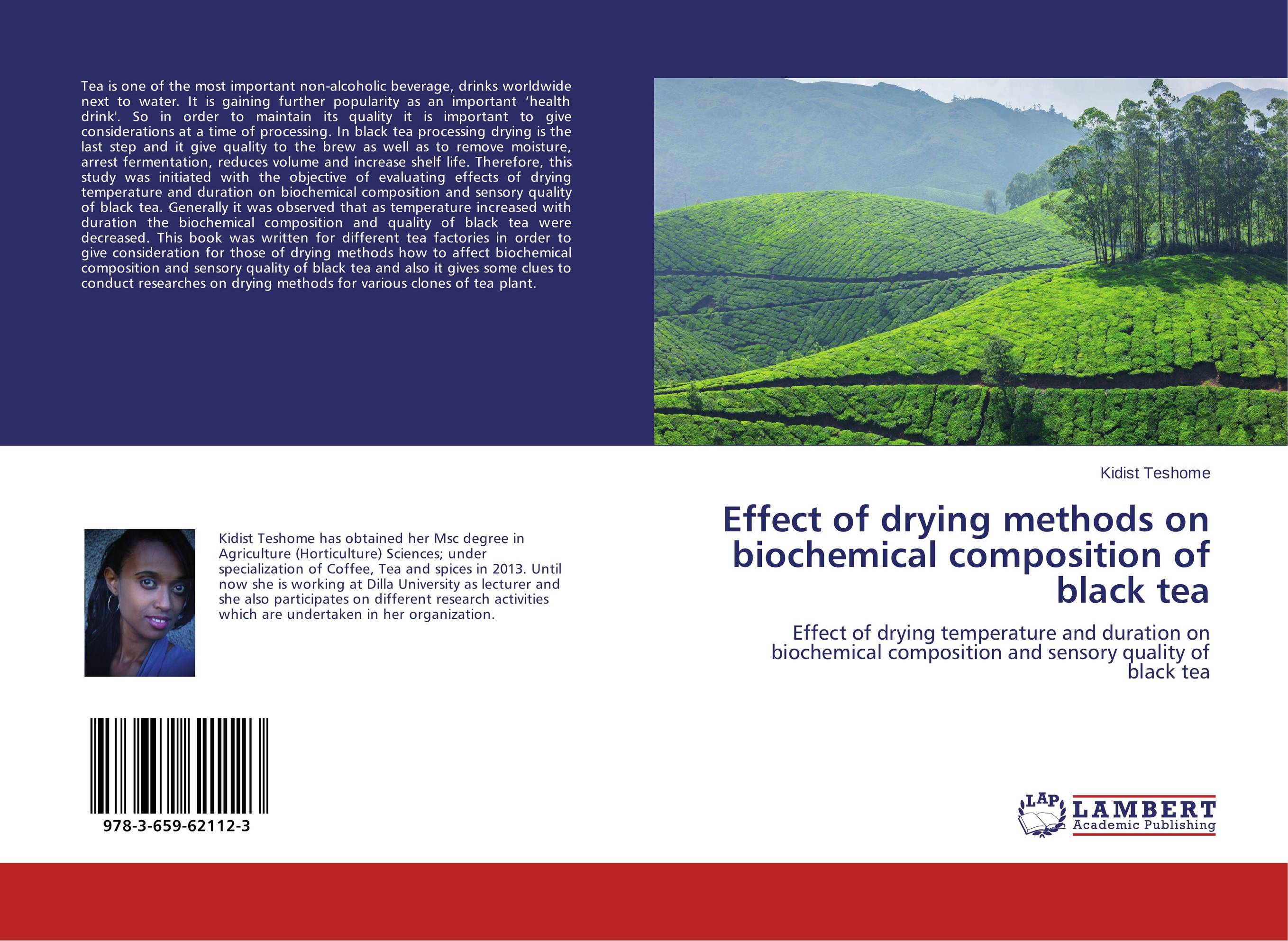 цены Effect of drying methods on biochemical composition of black tea
