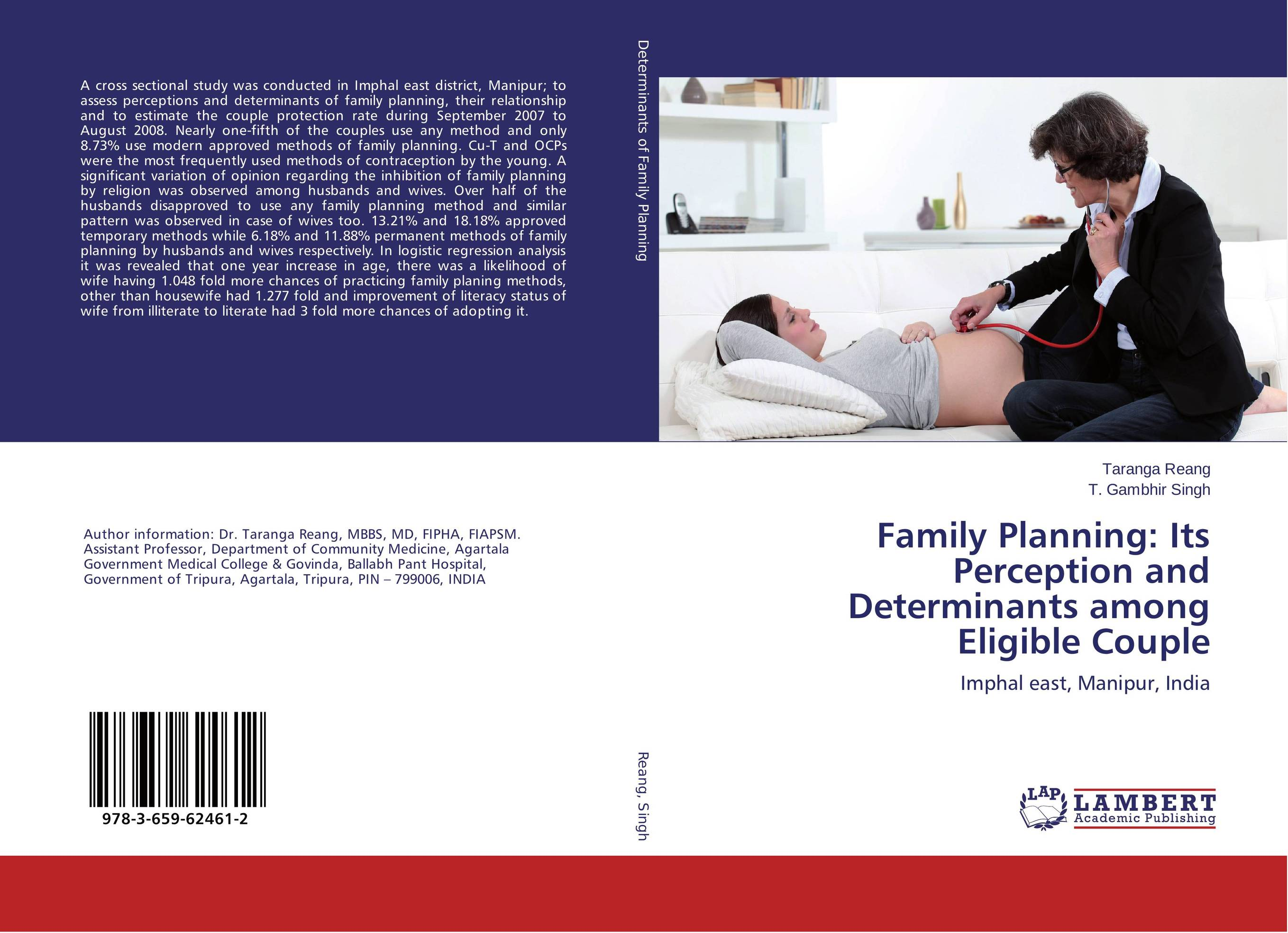 Family Planning: Its Perception and Determinants among Eligible Couple assessing family planning decision
