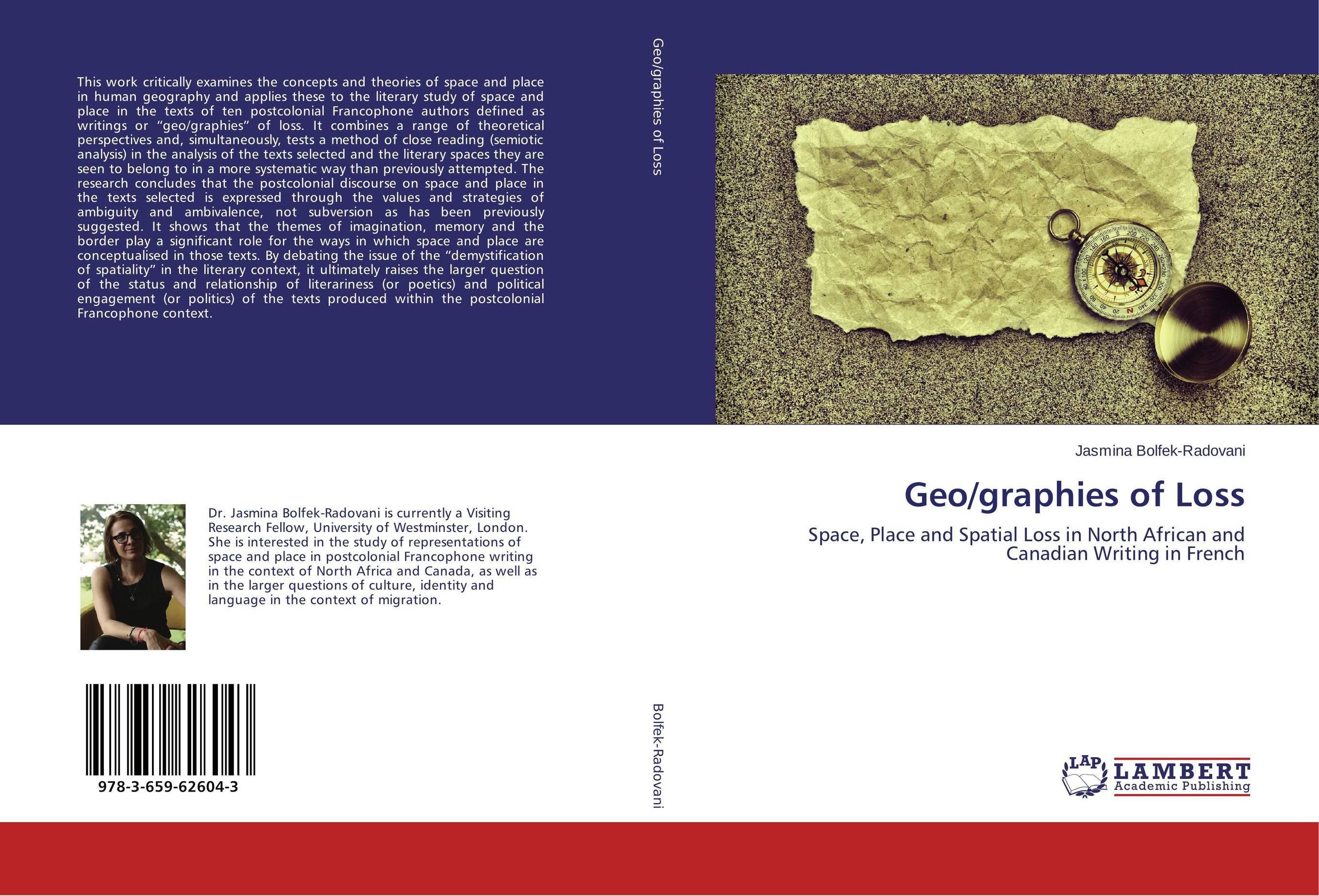 Geo/graphies of Loss the stylistic identity of english literary texts