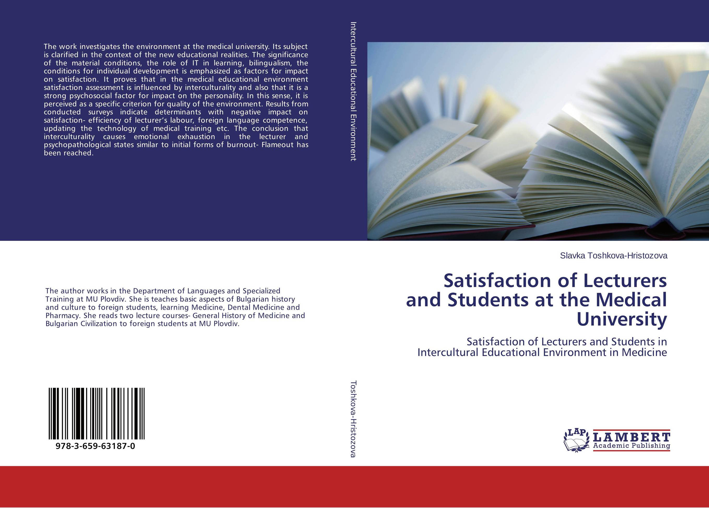 Satisfaction of Lecturers and Students at the Medical University impact of job satisfaction on turnover intentions