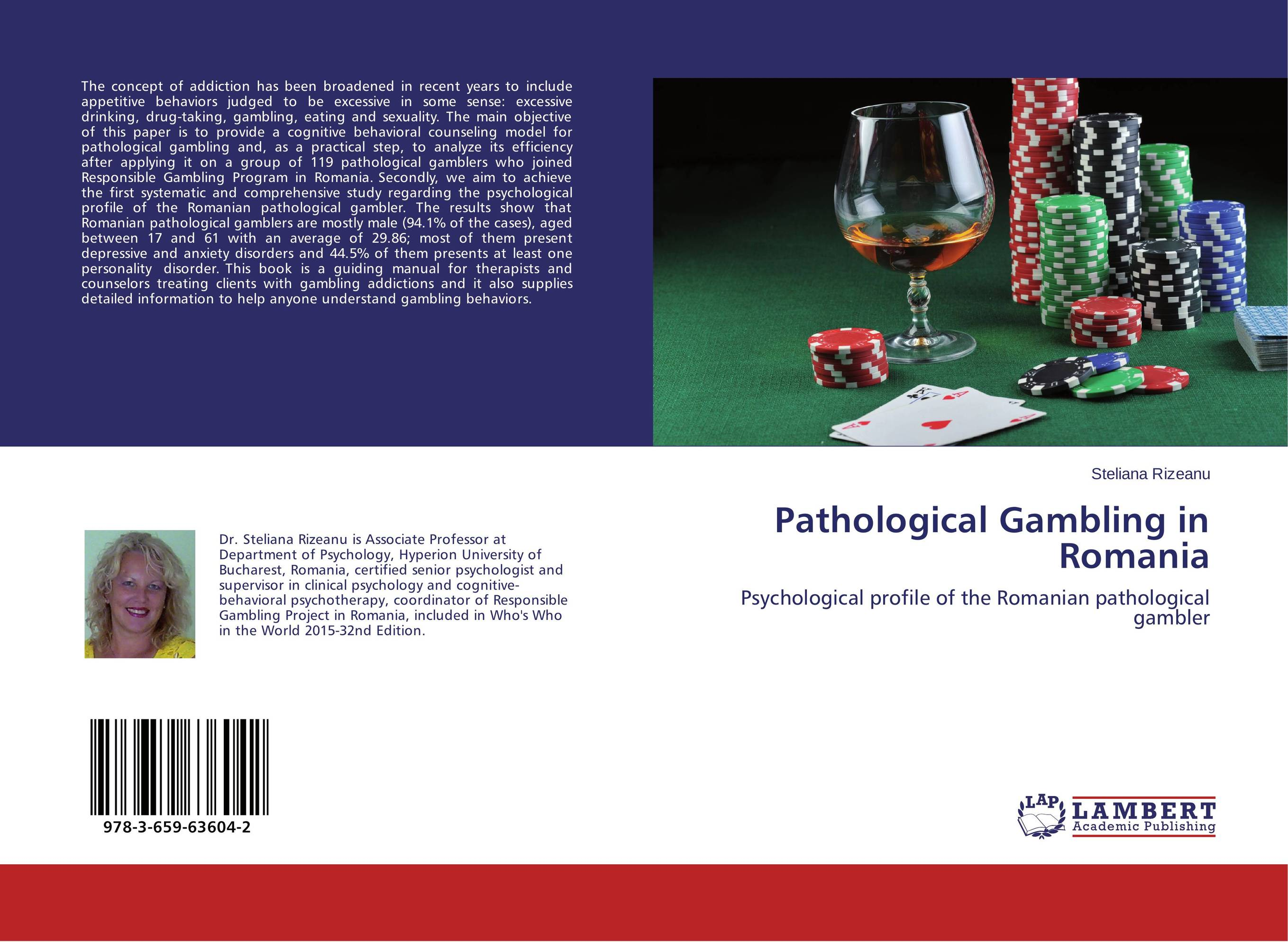 Pathological Gambling in Romania neurobiology of addictions