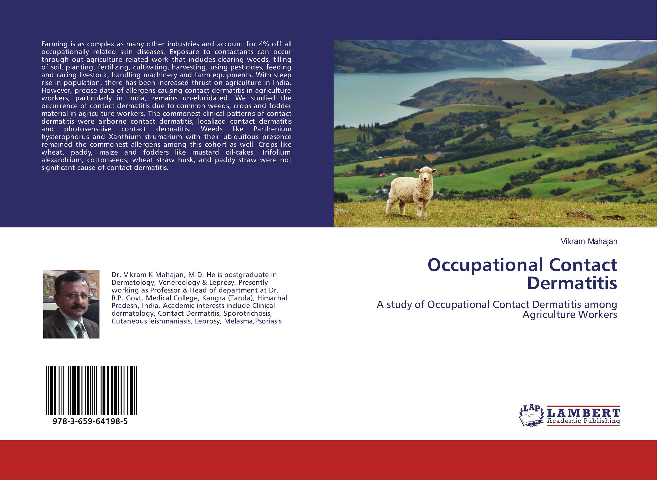 Occupational Contact Dermatitis pastoralism and agriculture pennar basin india