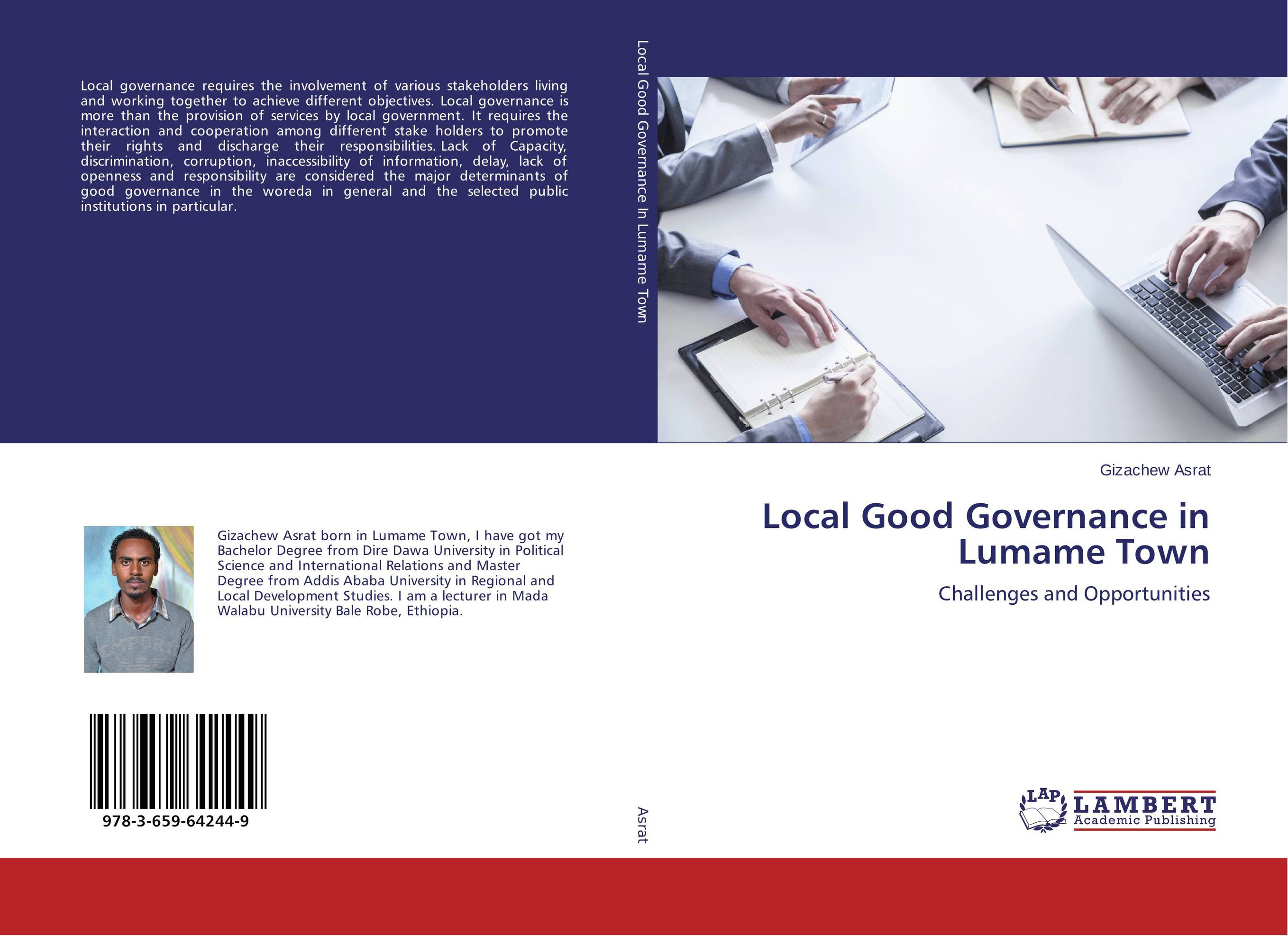 Local Good Governance in Lumame Town district substructures as agents of local governance