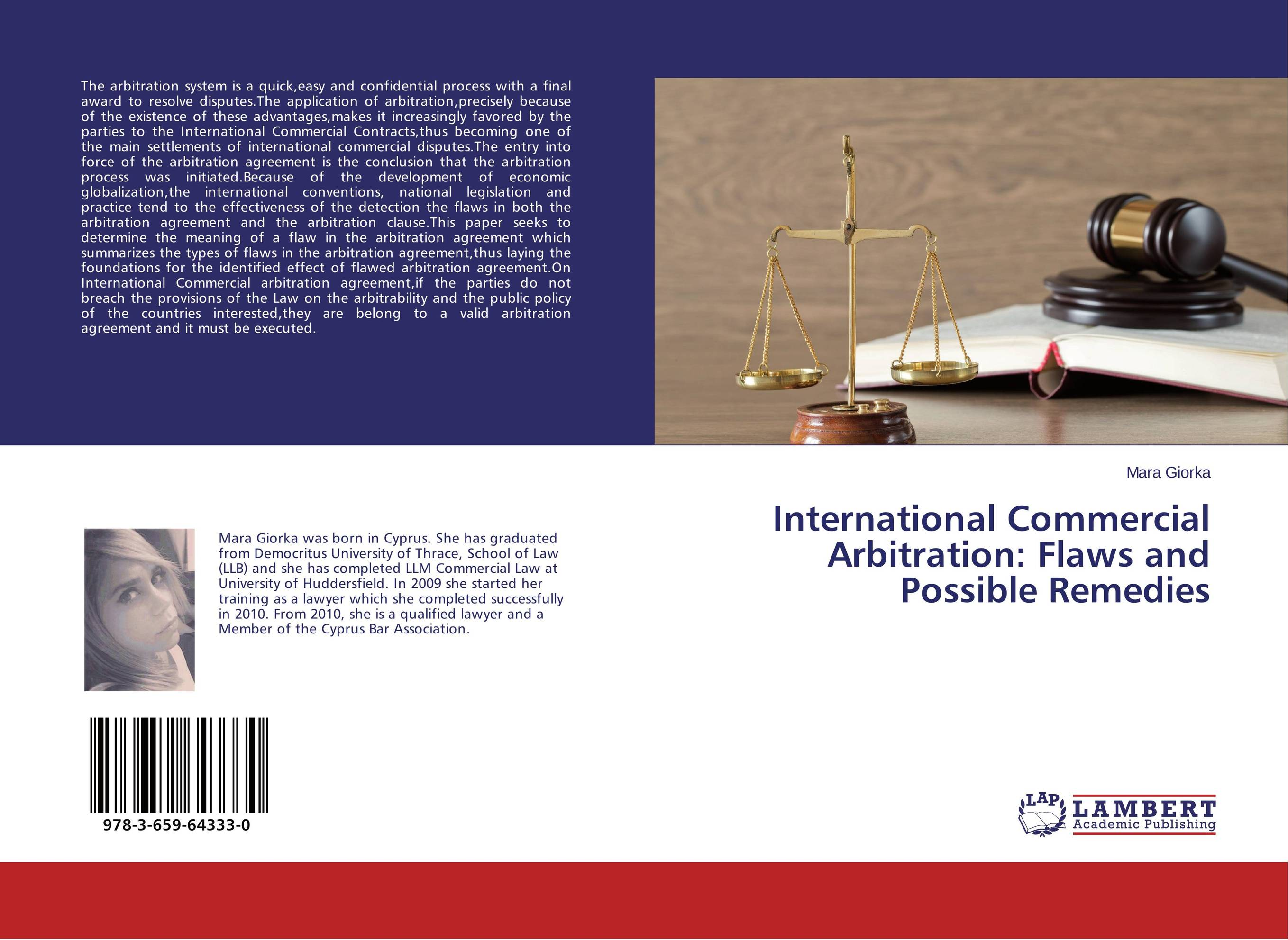 International Commercial Arbitration: Flaws and Possible Remedies point systems migration policy and international students flow