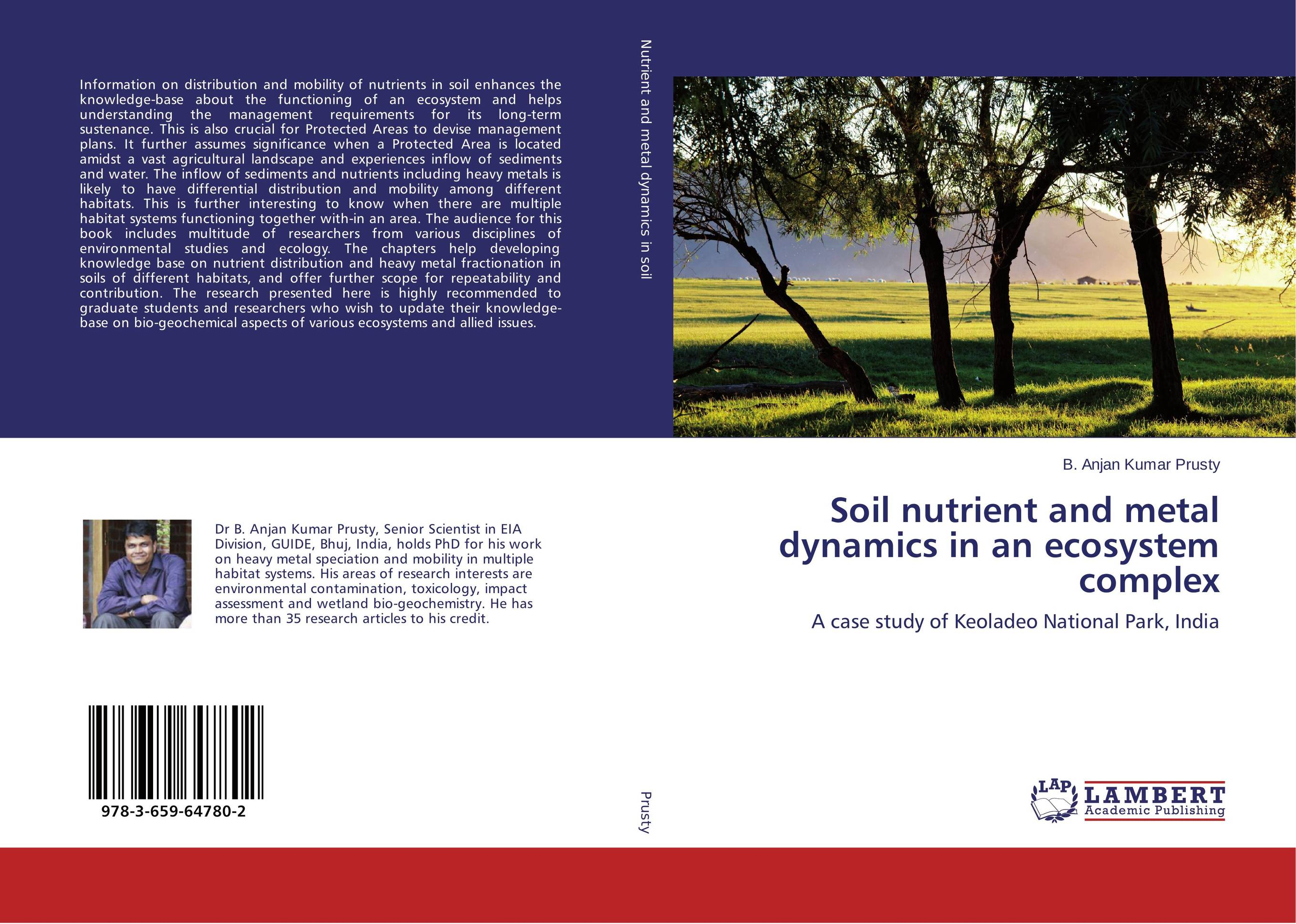 Soil nutrient and metal dynamics in an ecosystem complex