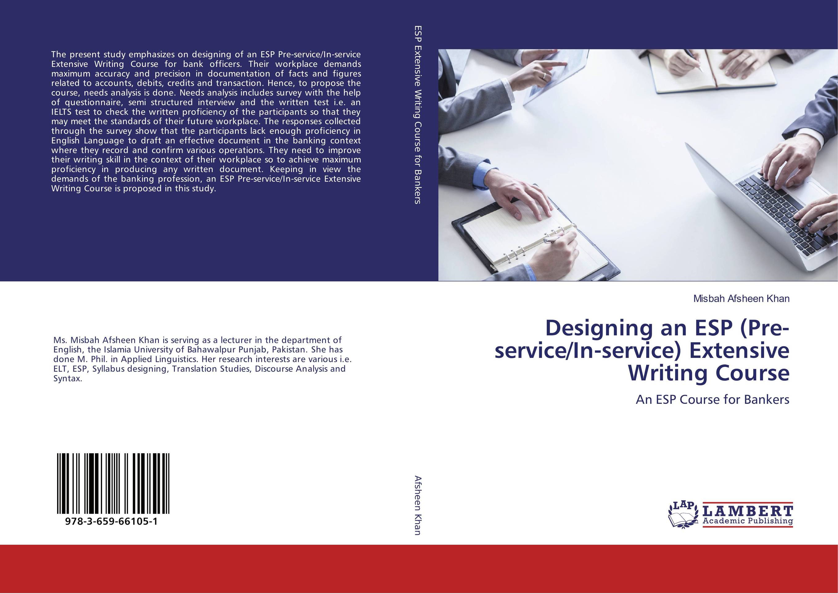 Designing an ESP (Pre-service/In-service) Extensive Writing Course