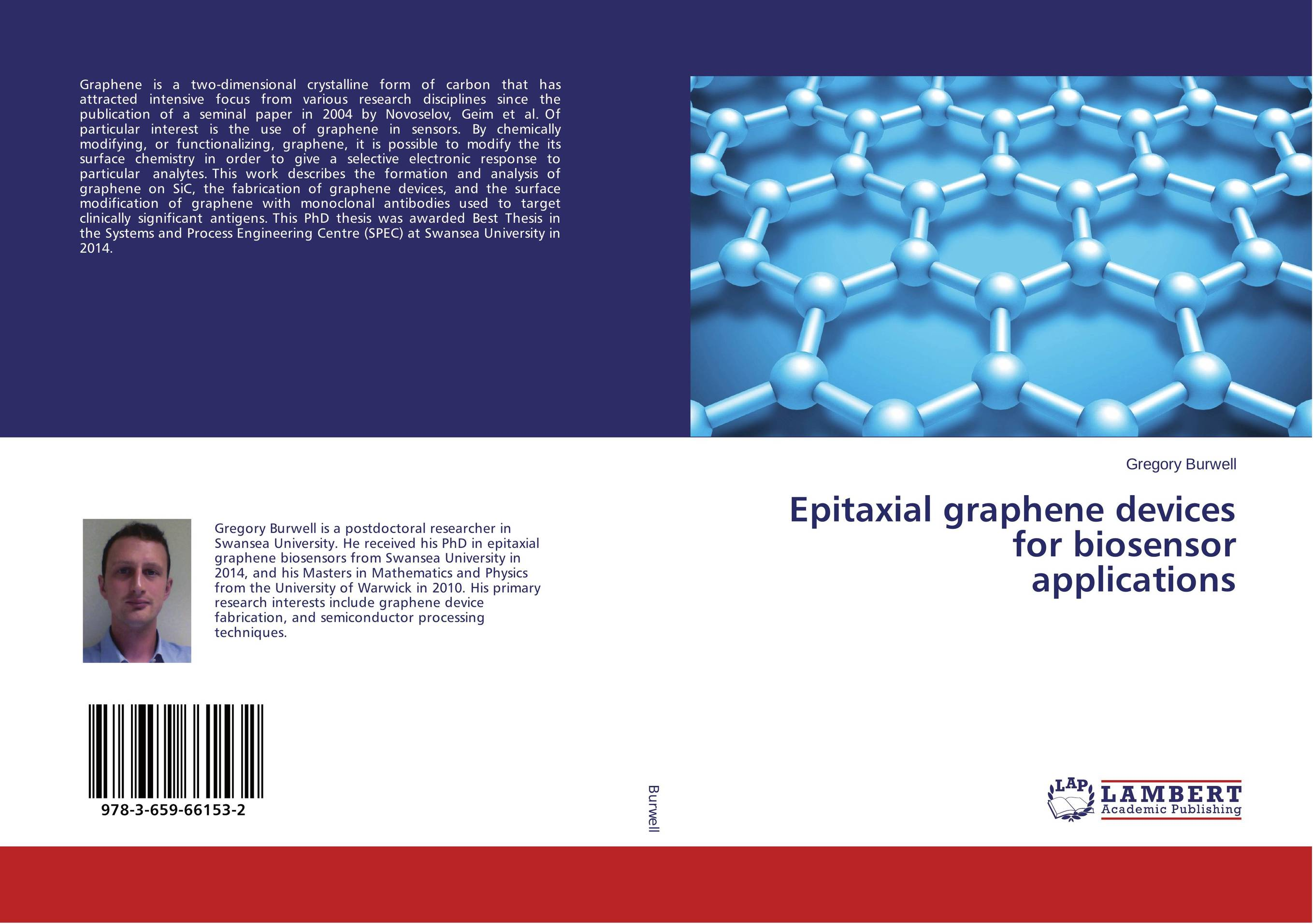 Epitaxial graphene devices for biosensor applications
