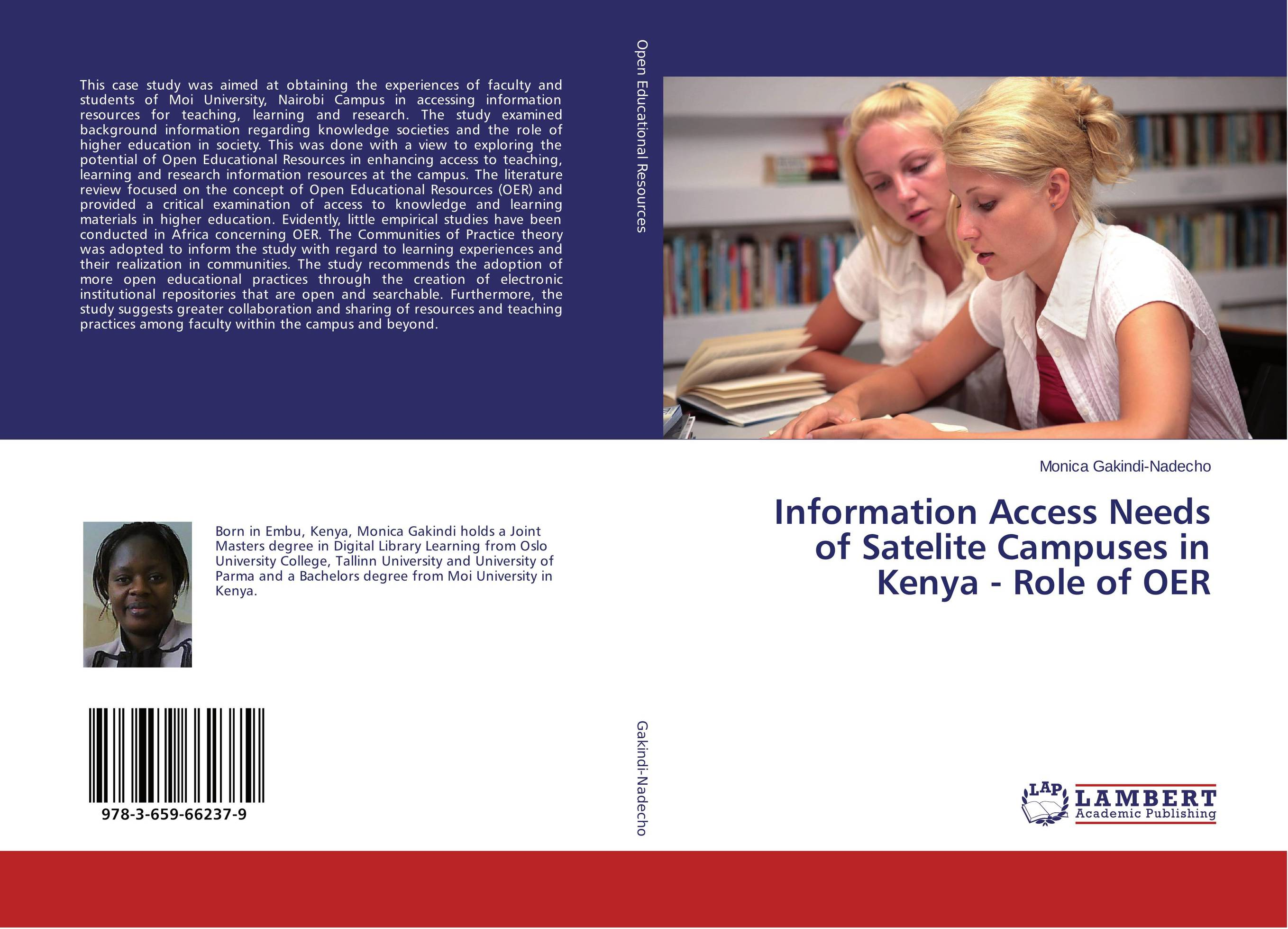 Information Access Needs of Satelite Campuses in Kenya - Role of OER learning resources набор пробей